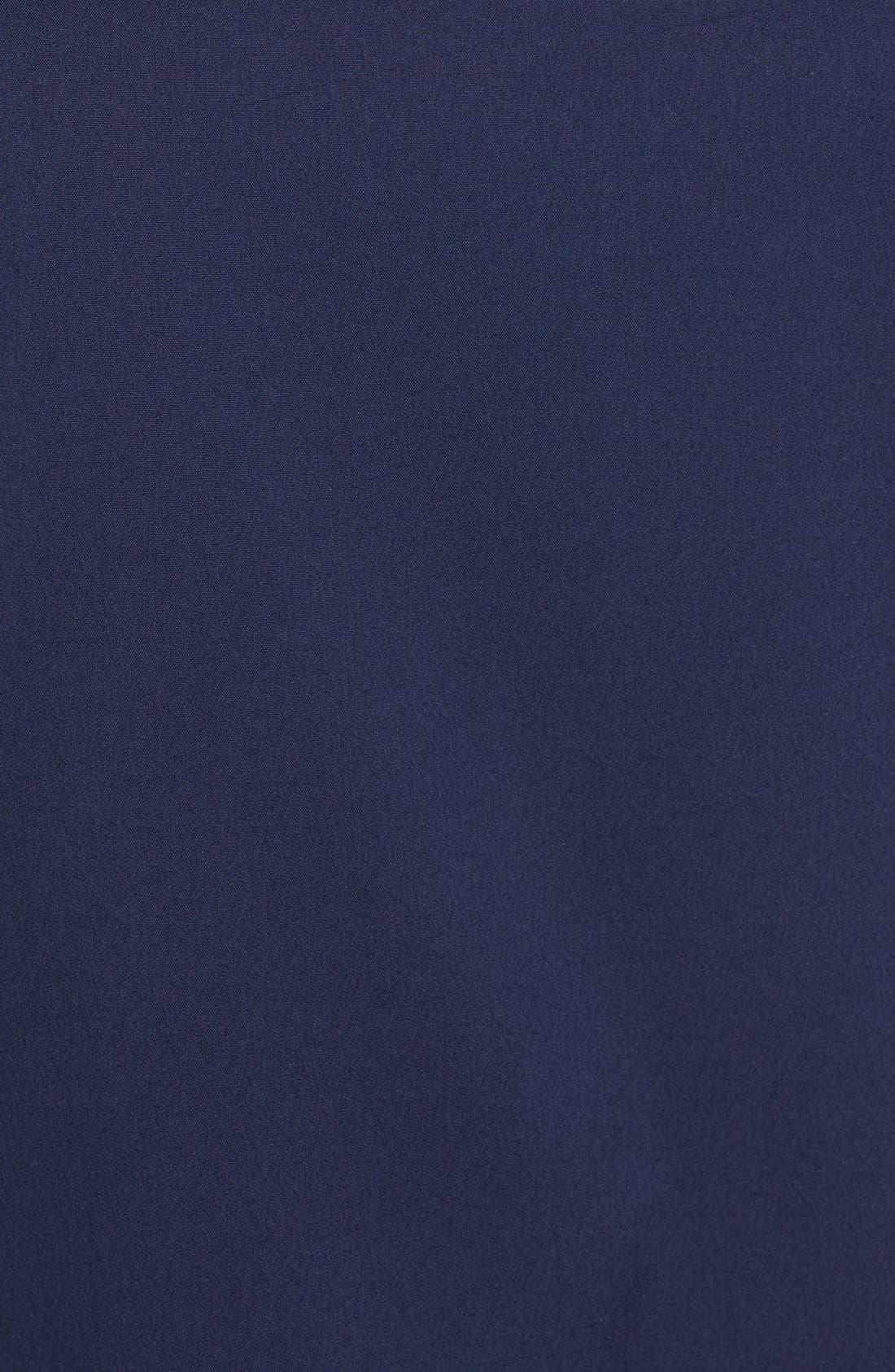 Alternate Image 5  - Halogen® Tie Back Short Sleeve Poplin Blouse (Regular & Petite)