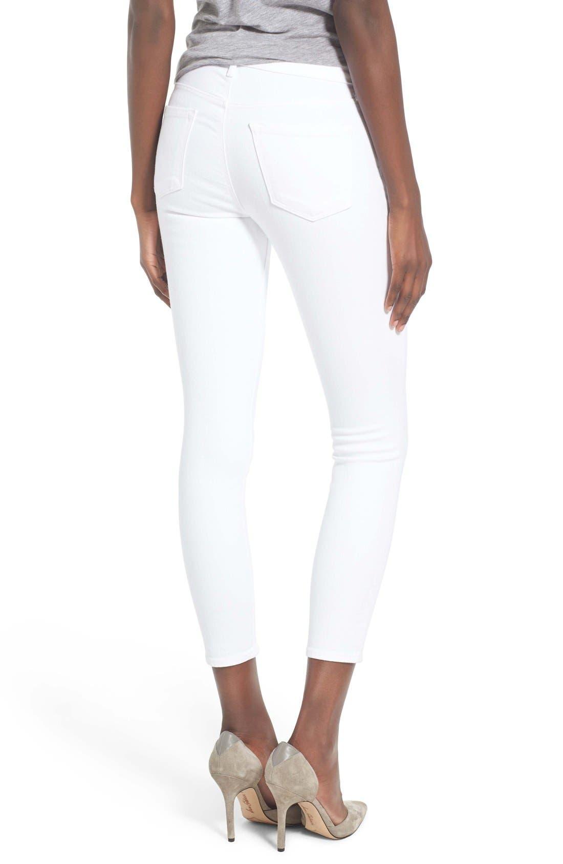 Alternate Image 2  - J Brand Capri Skinny Jeans