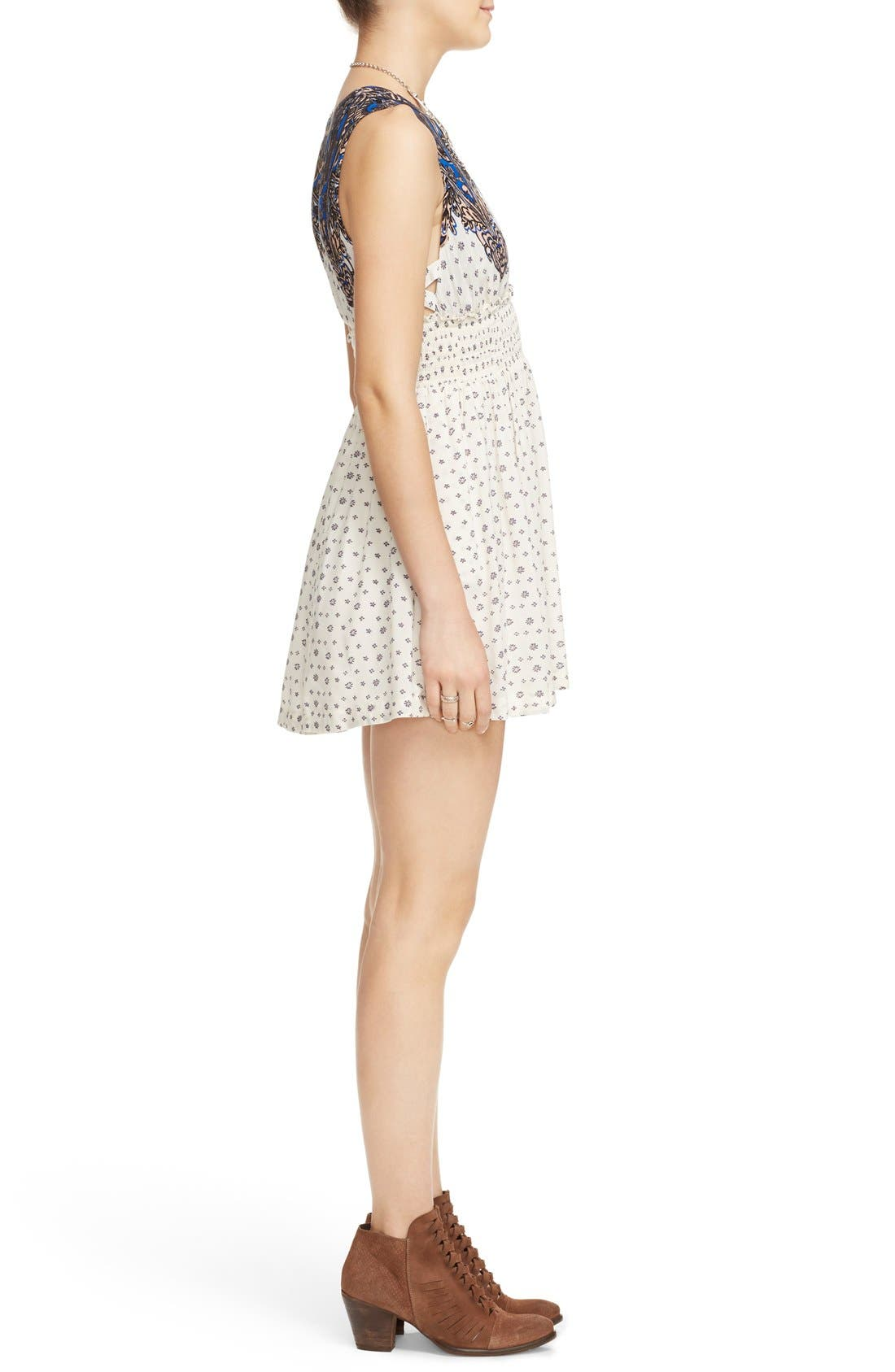Alternate Image 3  - Free People 'Walking Through Dreams' Fit & Flare Dress