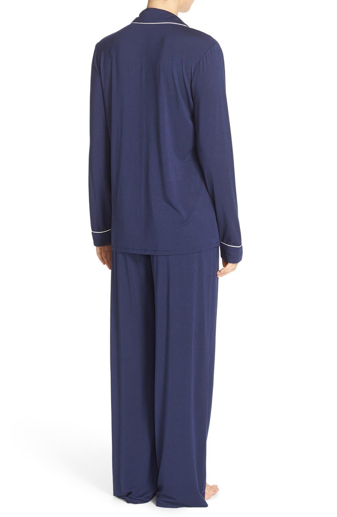 Alternate Image 2  - Nordstrom Lingerie Moonlight Pajamas