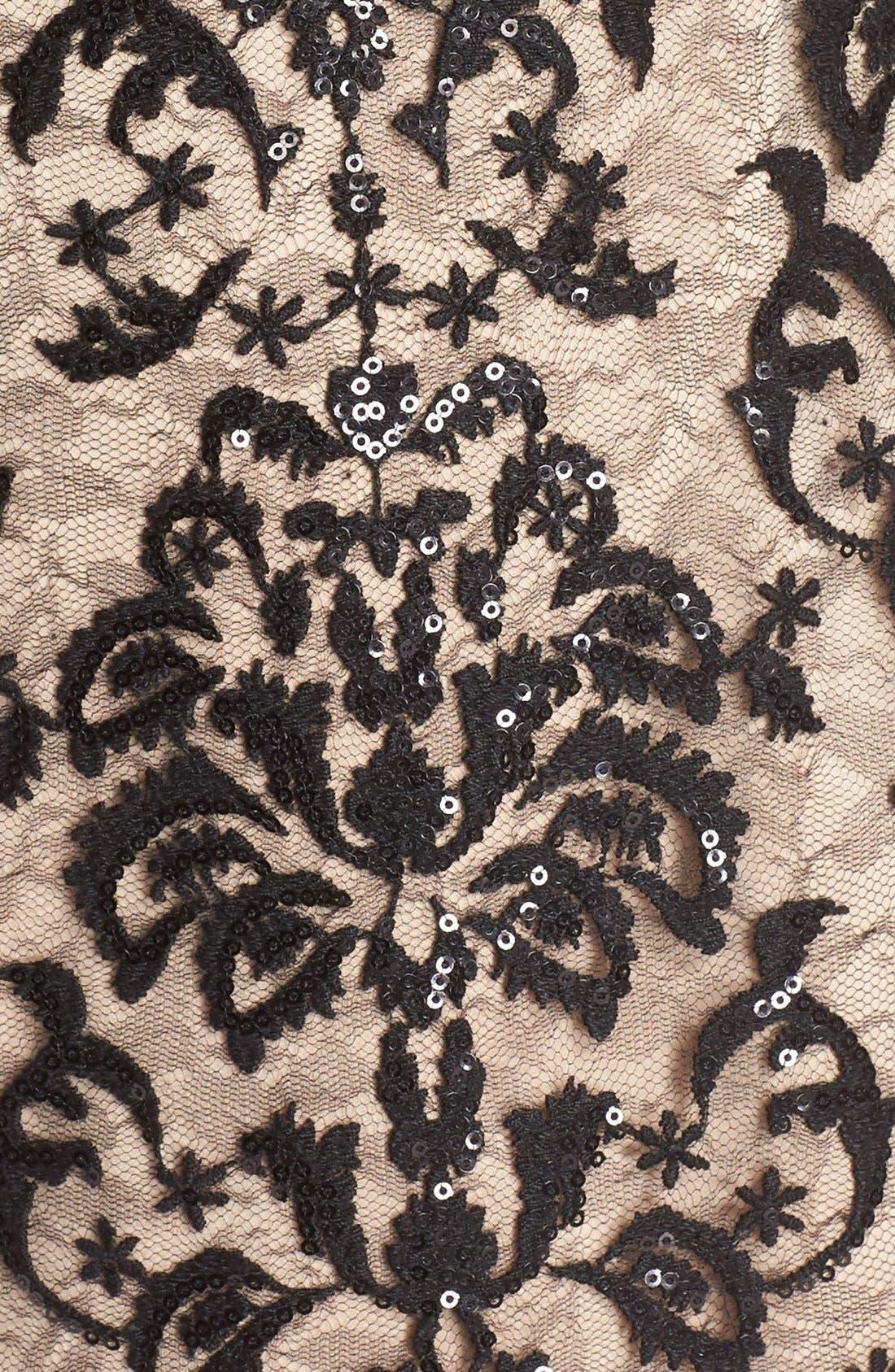 Alternate Image 7  - Aidan by Aidan Mattox Blouson Bodice Dress