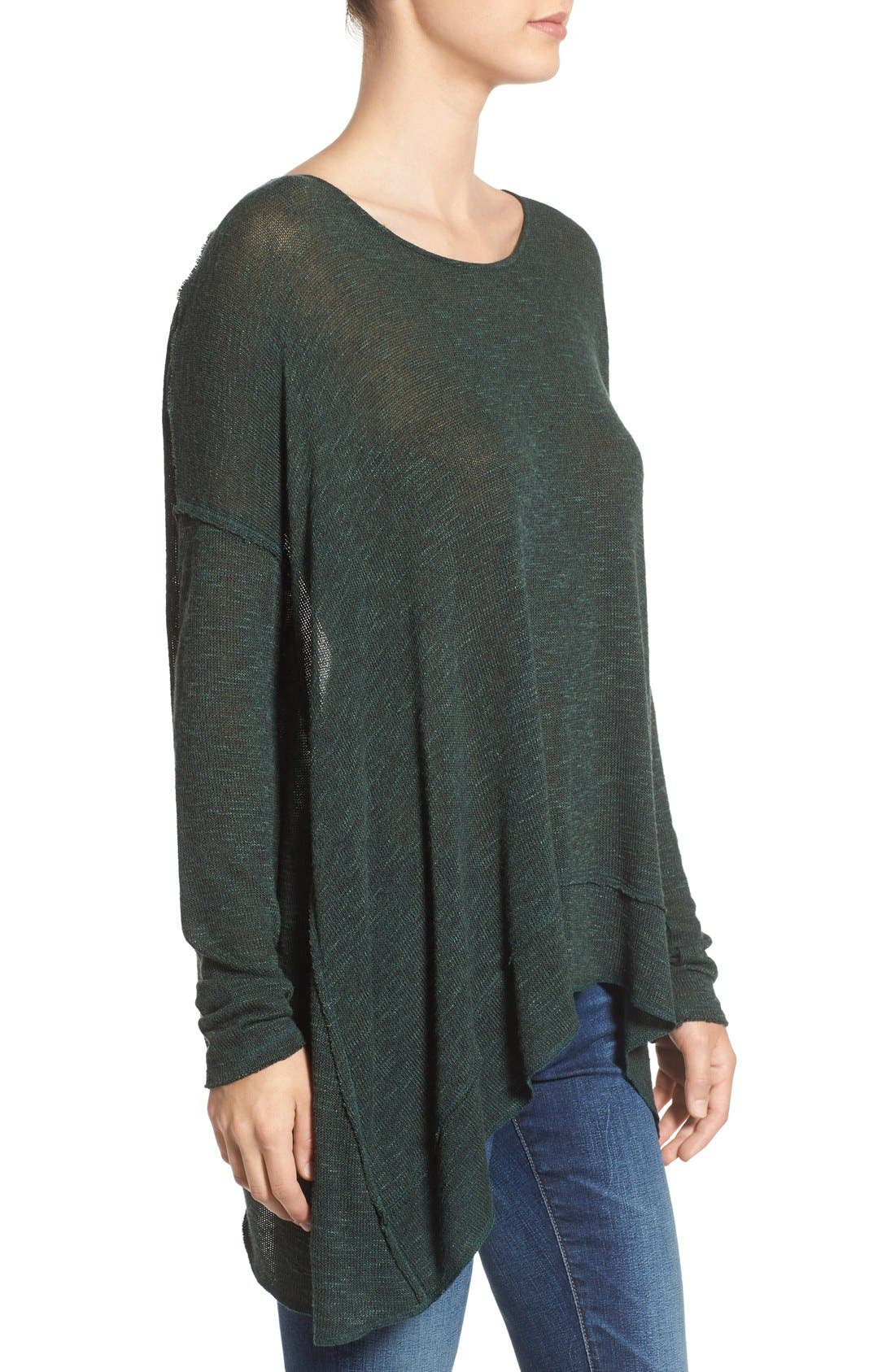Alternate Image 3  - Free People 'Shadow' Oversize Hacci Open Back Top