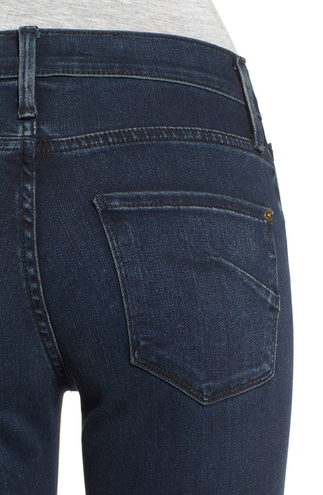 Alternate Image 4  - James Jeans Ankle Zip Skinny Jeans