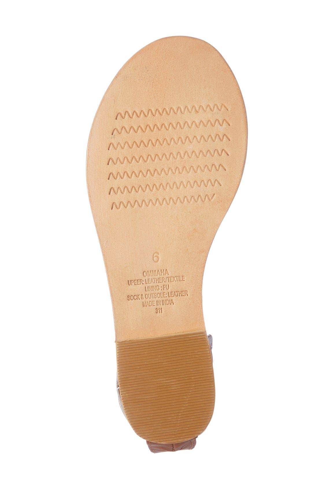 Alternate Image 4  - Steve Madden 'Ommaha' Embellished Lace-up Sandal (Women)