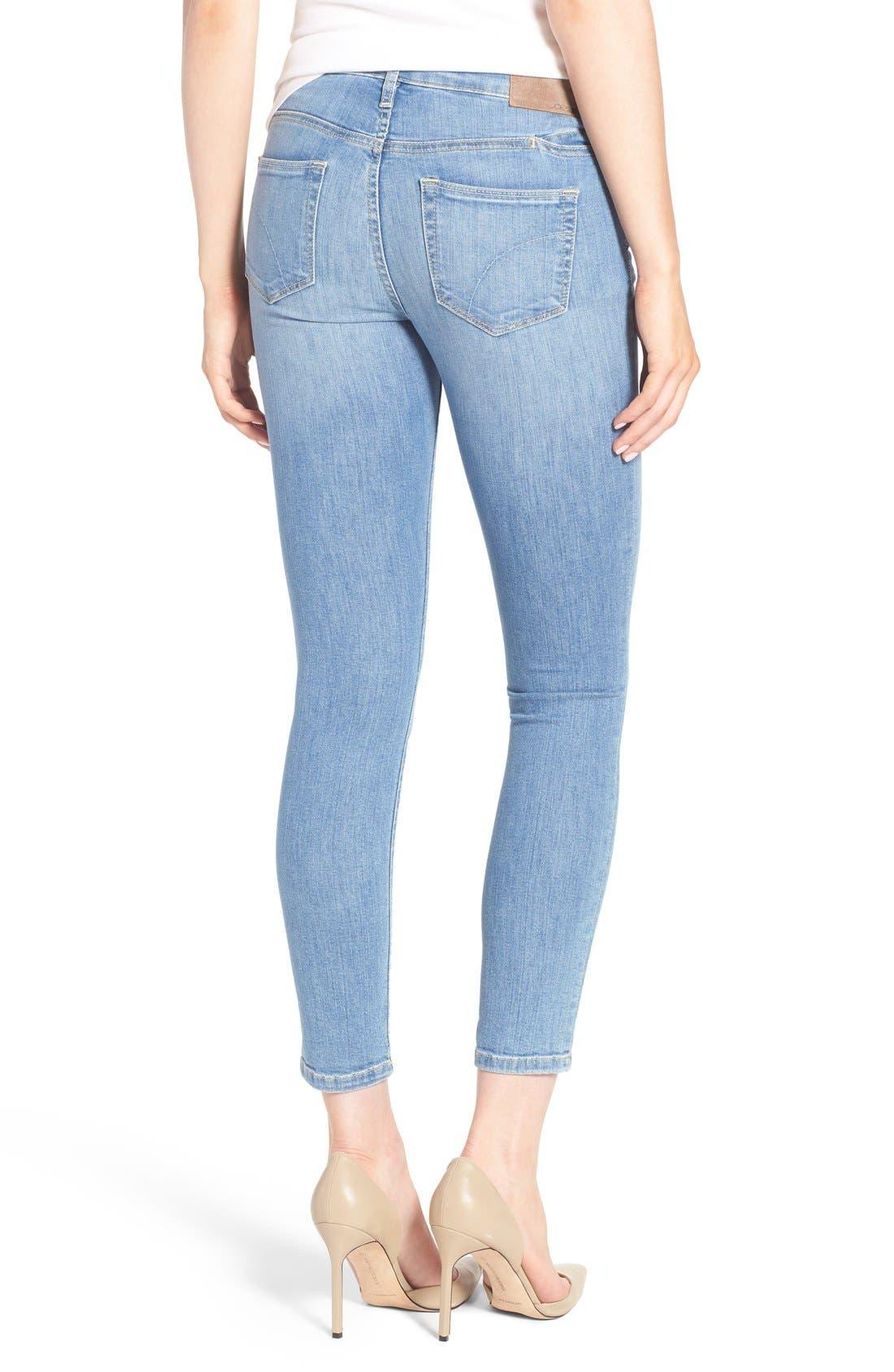 Alternate Image 2  - Joe's 'Vixen' Ankle Skinny Jeans with Phone Pocket (Mitzi)