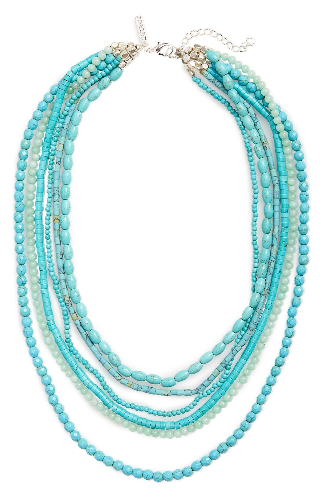 Alternate Image 1 Selected - Panacea Multistrand Statement Necklace