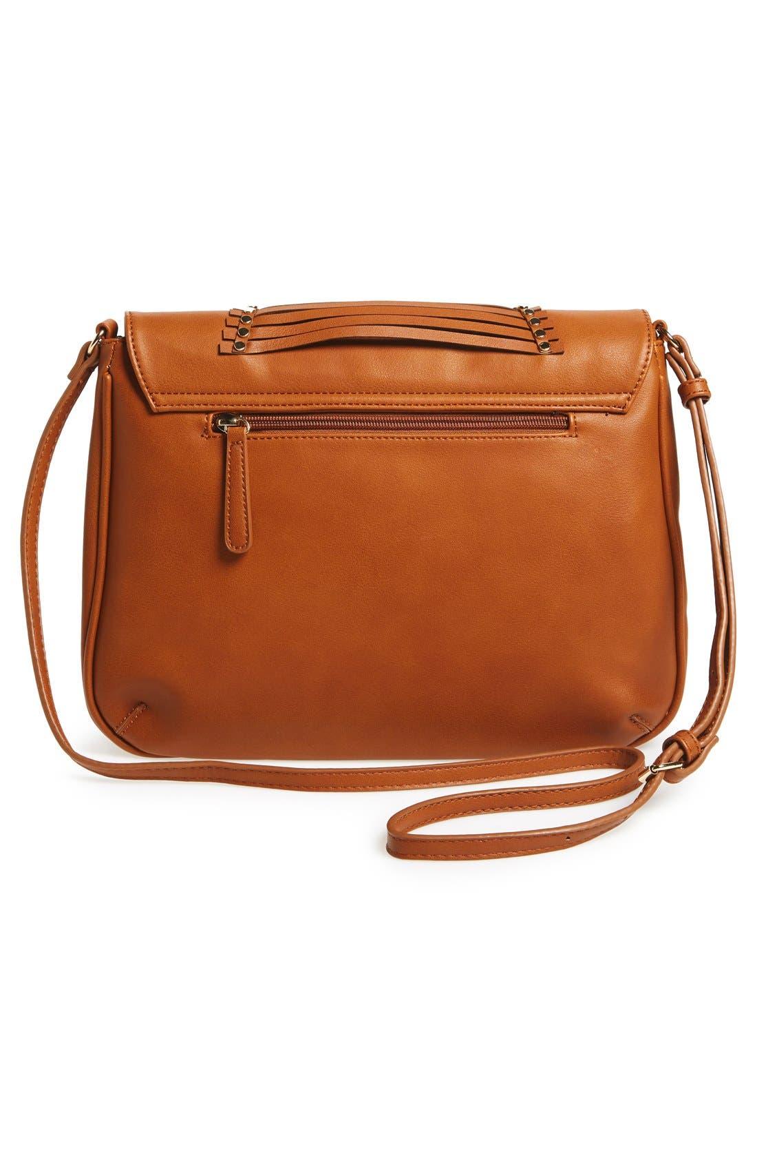 Alternate Image 3  - Emperia 'Larissa' Studded Flap Faux Leather Crossbody Bag