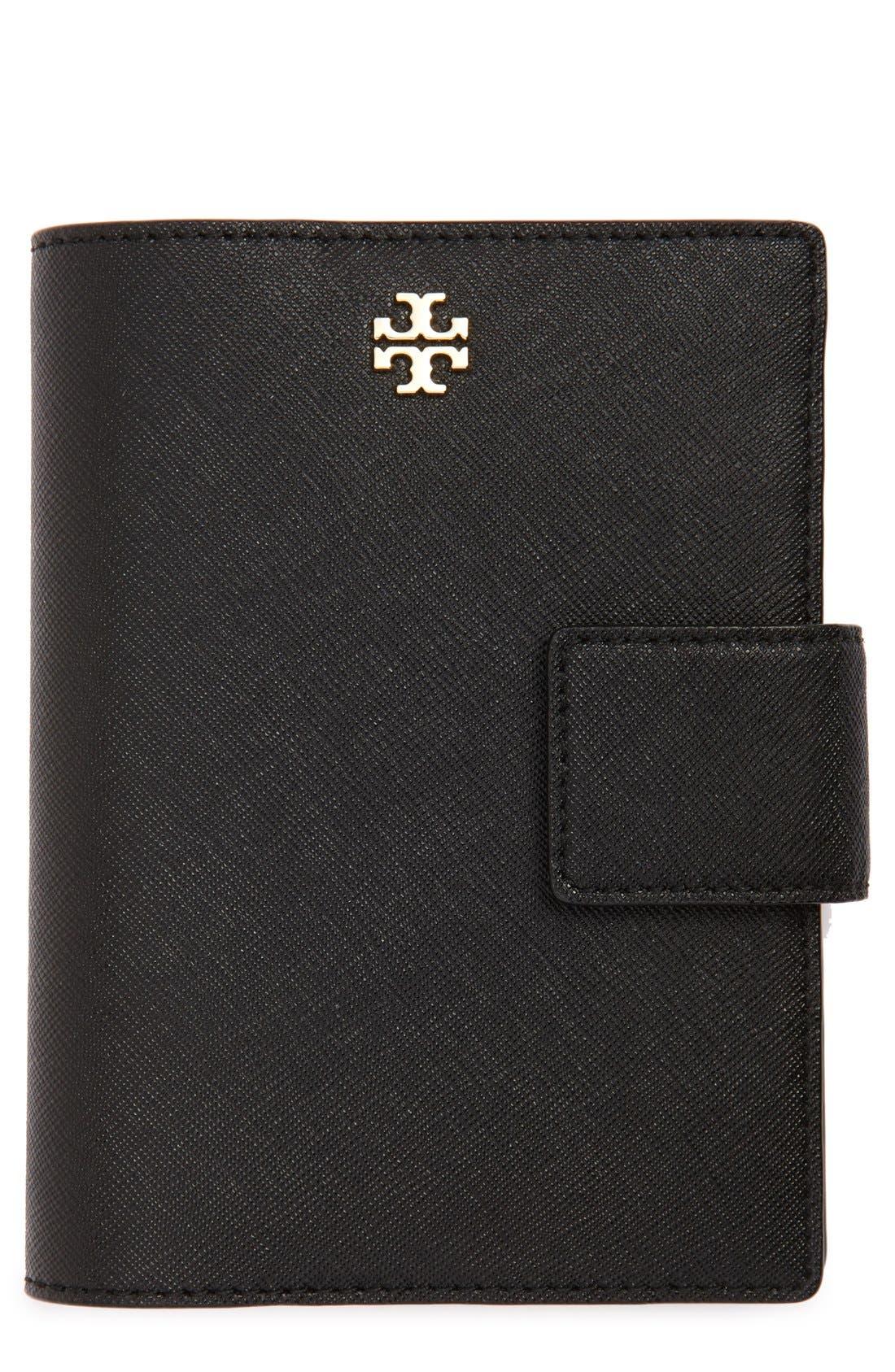 Alternate Image 1 Selected - Tory Burch 'Robinson' Passport Holder