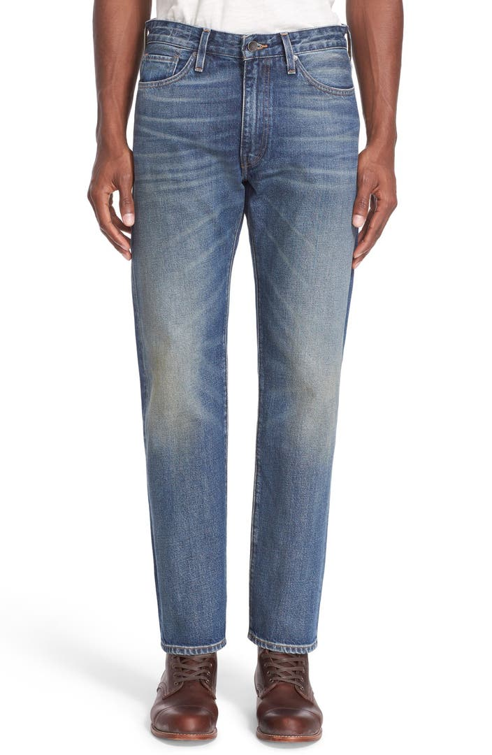 Levi 39 s made crafted 39 the rail 39 straight leg jeans for Levi s made and crafted