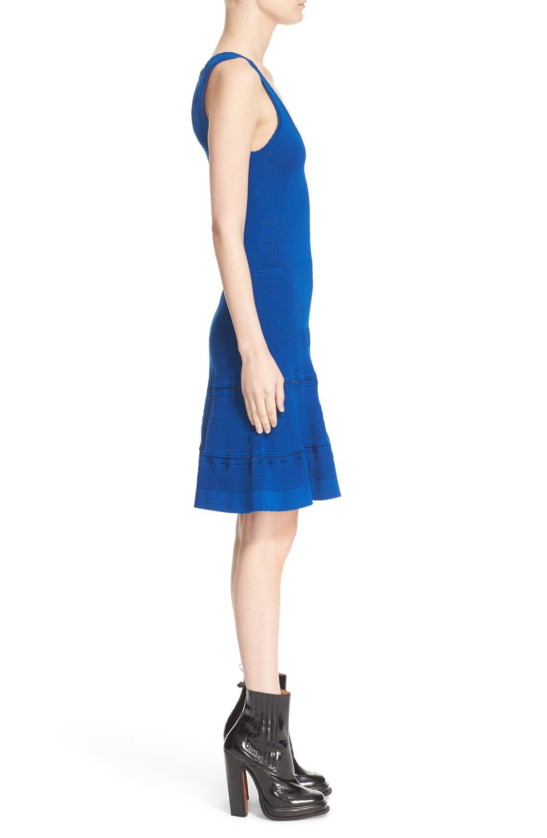 Alternate Image 3  - Carven Stretch Knit Fit & Flare Dress