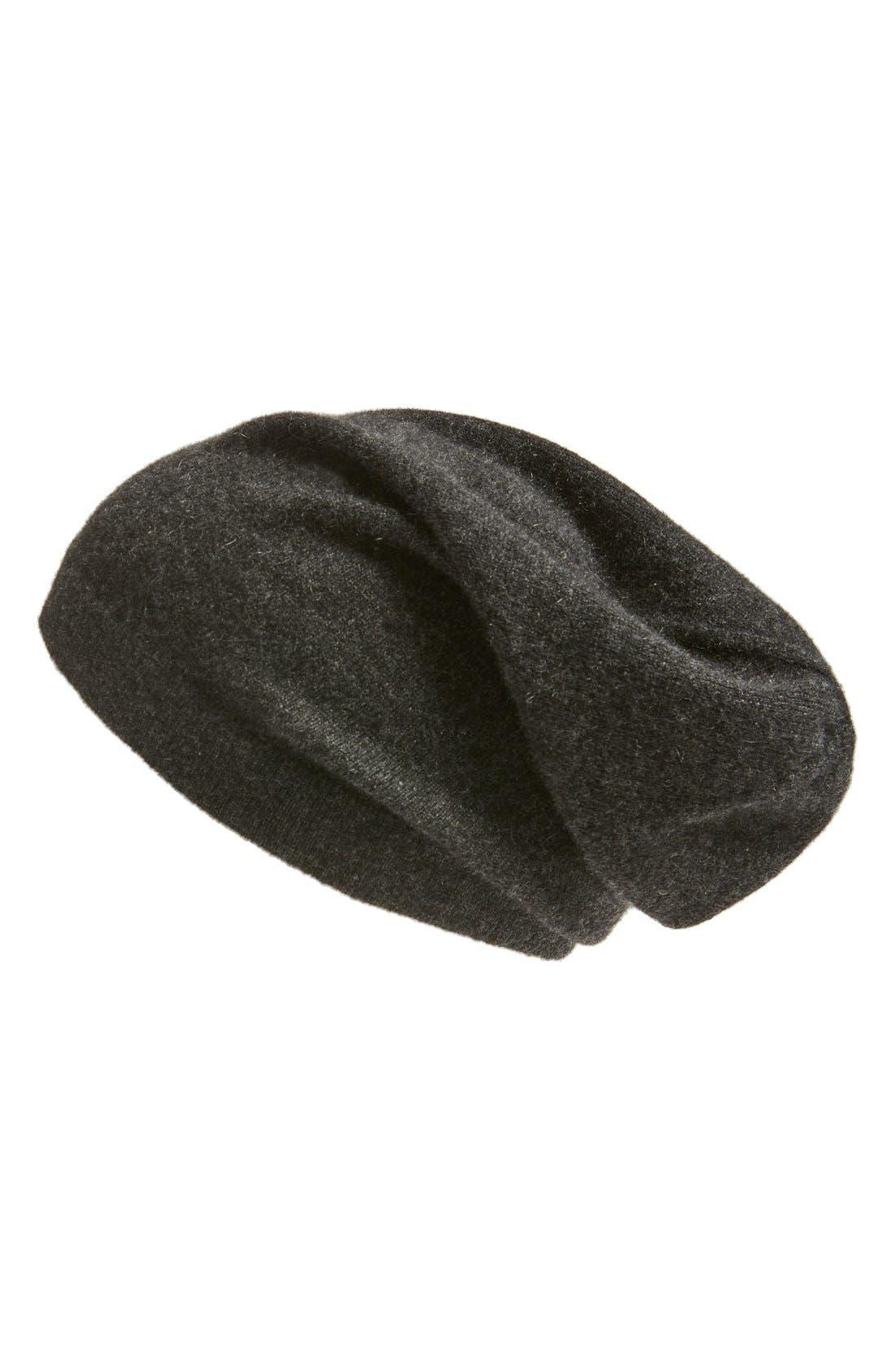 Alternate Image 1 Selected - Nordstrom Men's Shop Cashmere Beanie