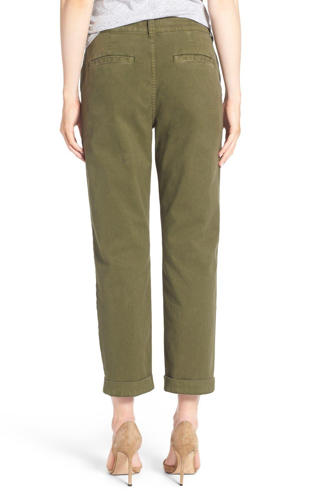 Alternate Image 2  - Madewell High Rise Straight Leg Chino Pants