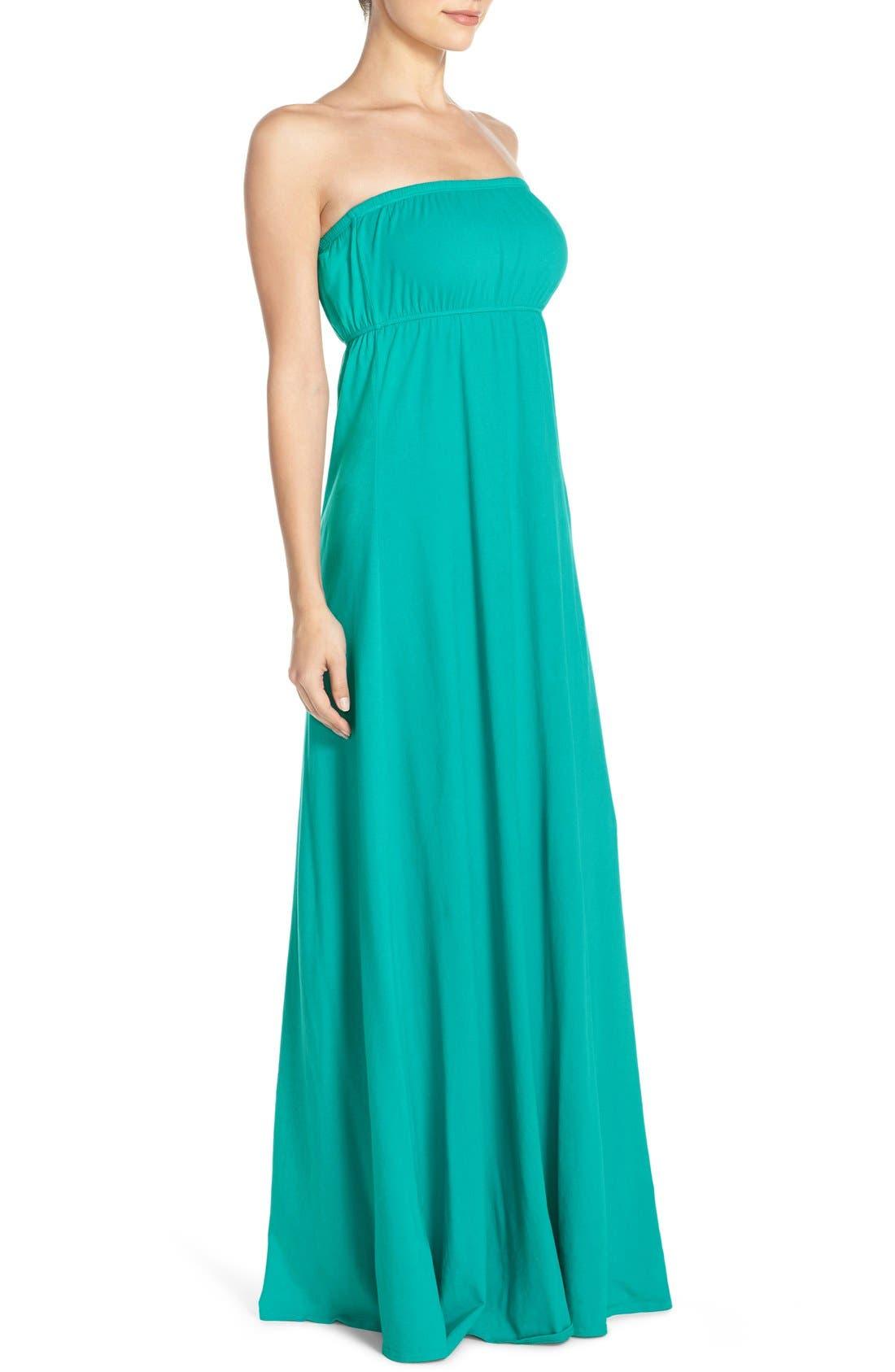 Alternate Image 3  - Hard Tail Long Strapless Dress