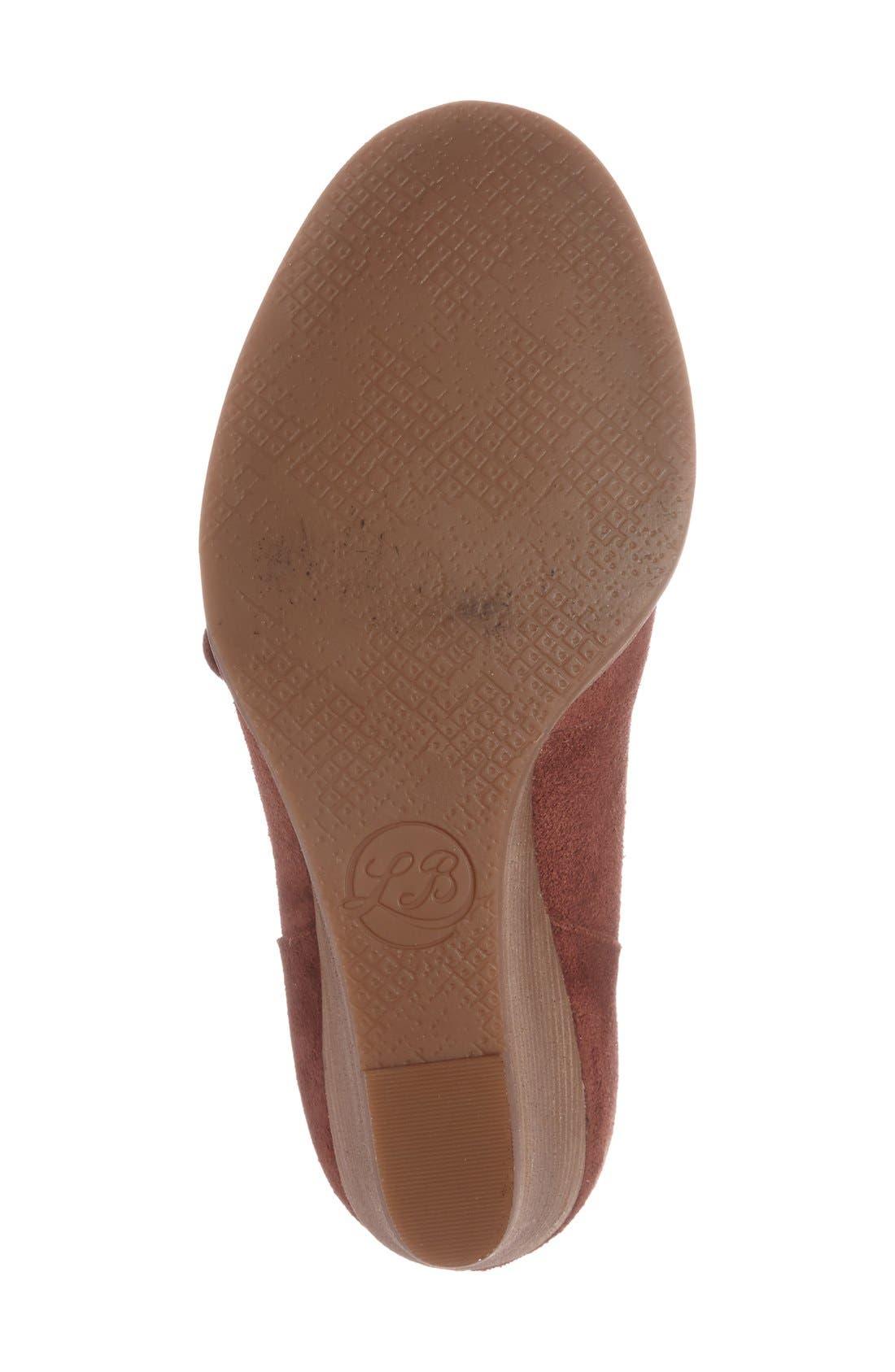 Alternate Image 4  - Lucky Brand 'Ysabel' Wedge Chukka Boot (Women)