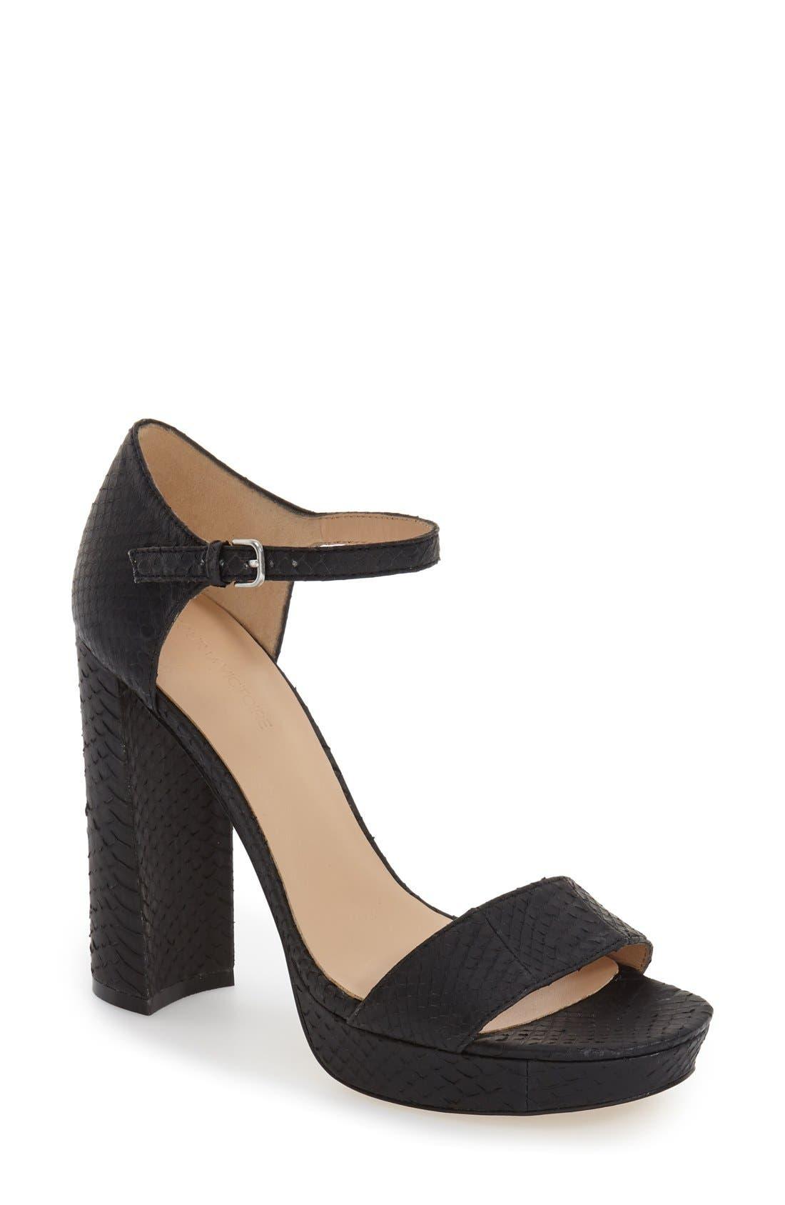 Pour la Victoire 'Yvette' Ankle Strap Sandal (Women)