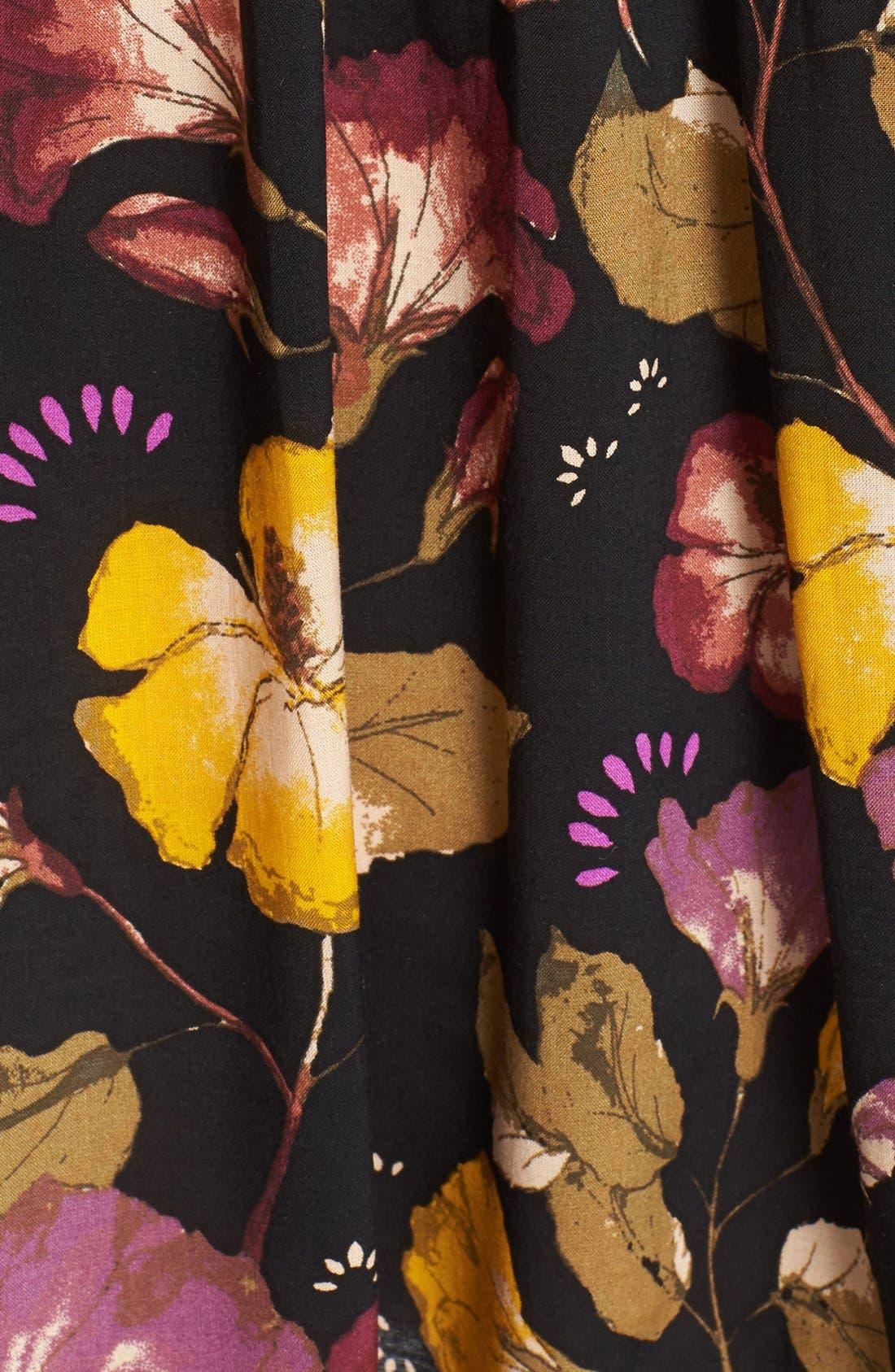 Alternate Image 5  - Free People 'Lattice Lovers' Lace-Up Minidress