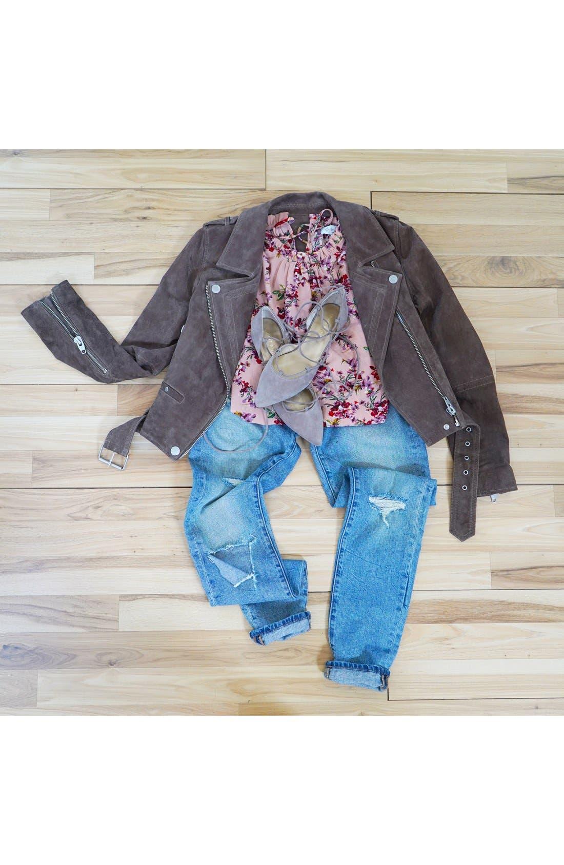 Alternate Image 8  - BLANKNYC 'Skinny Dipper' Distressed Skinny Jeans