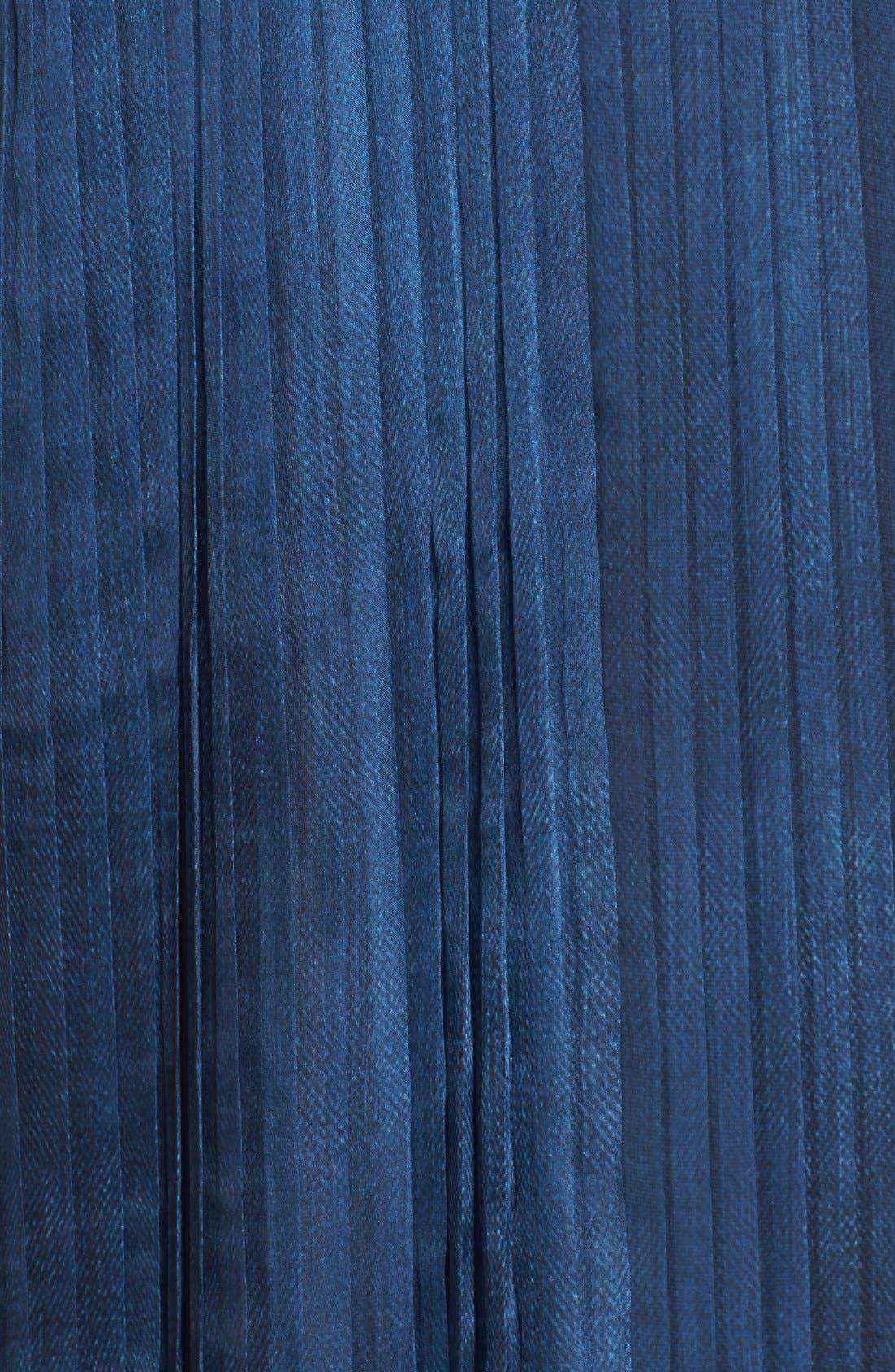 Alternate Image 5  - Elie Tahari 'Opal' Pleated Maxi Dress