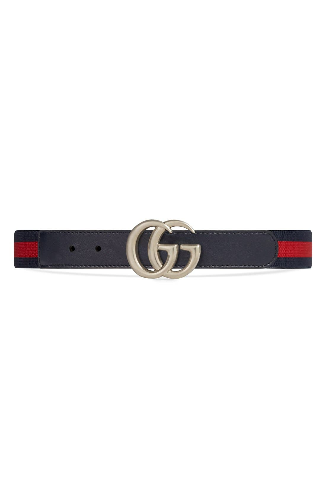 Gucci Elastic Webbed Belt (Little Boys)