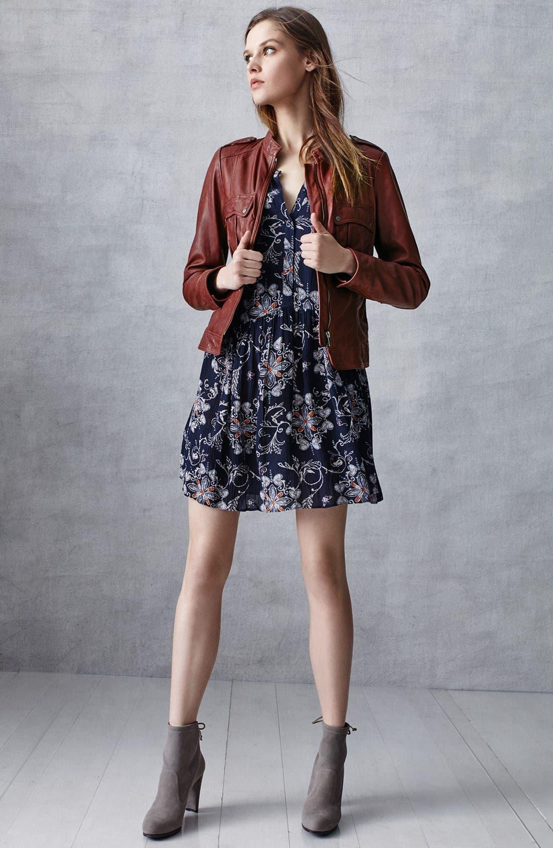 Alternate Image 6  - Hinge Button Front Dress