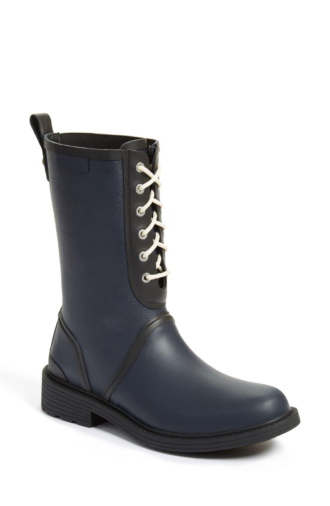 Alternate Image 1 Selected - rag & bone 'Ansel' Rain Boot (Women)