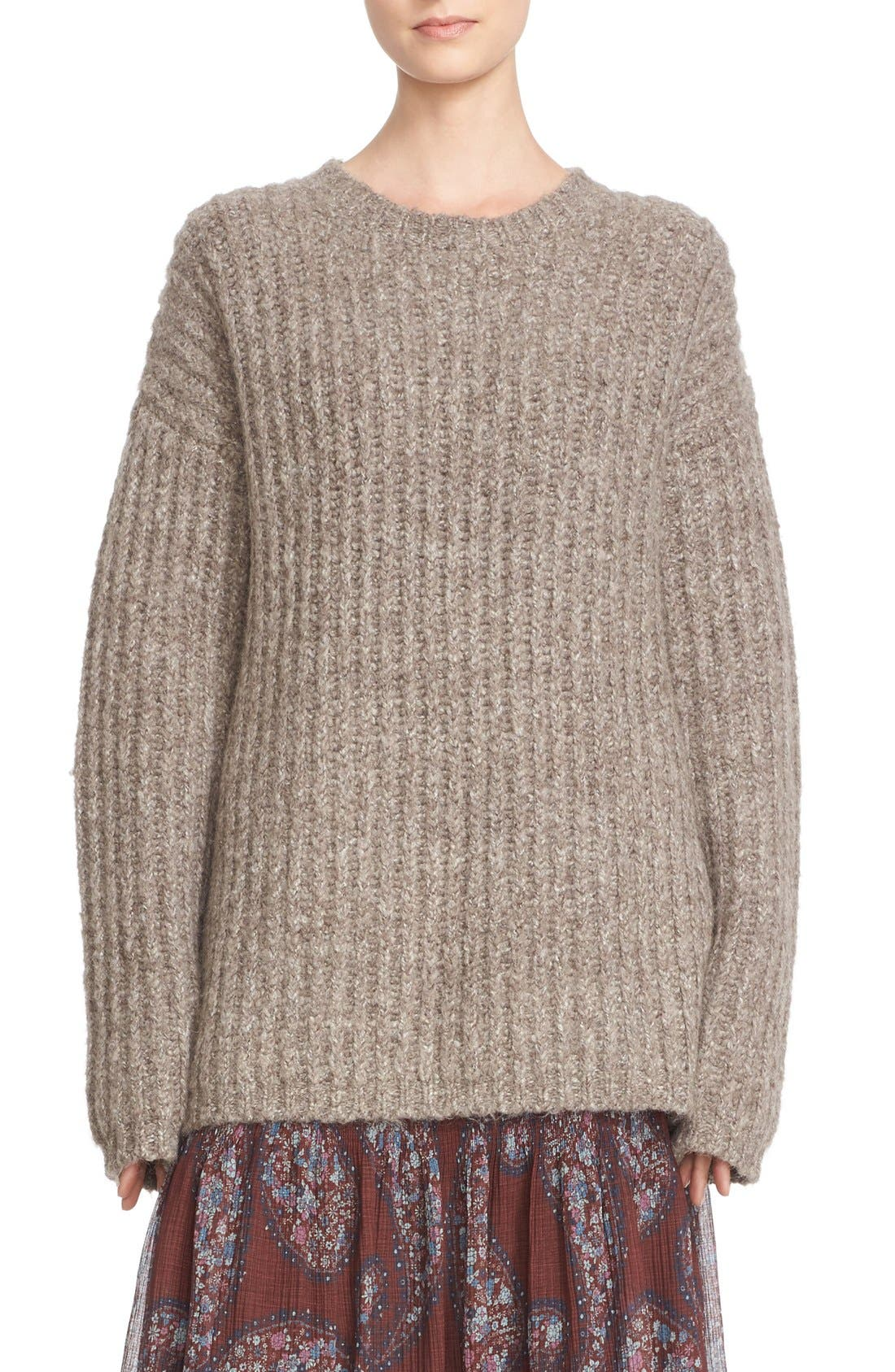Alternate Image 1 Selected - See by Chloé Ribbed Sweater