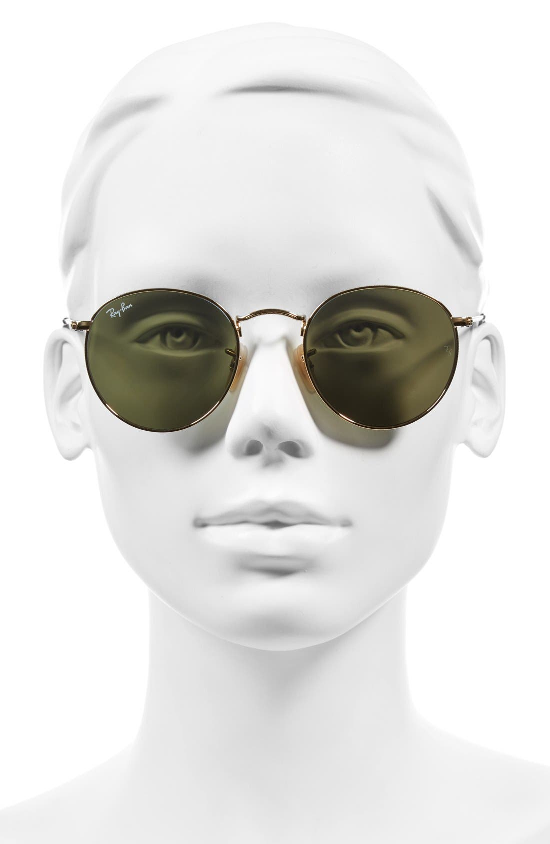 Alternate Image 2  - Ray-Ban Icons 50mm Round Sunglasses