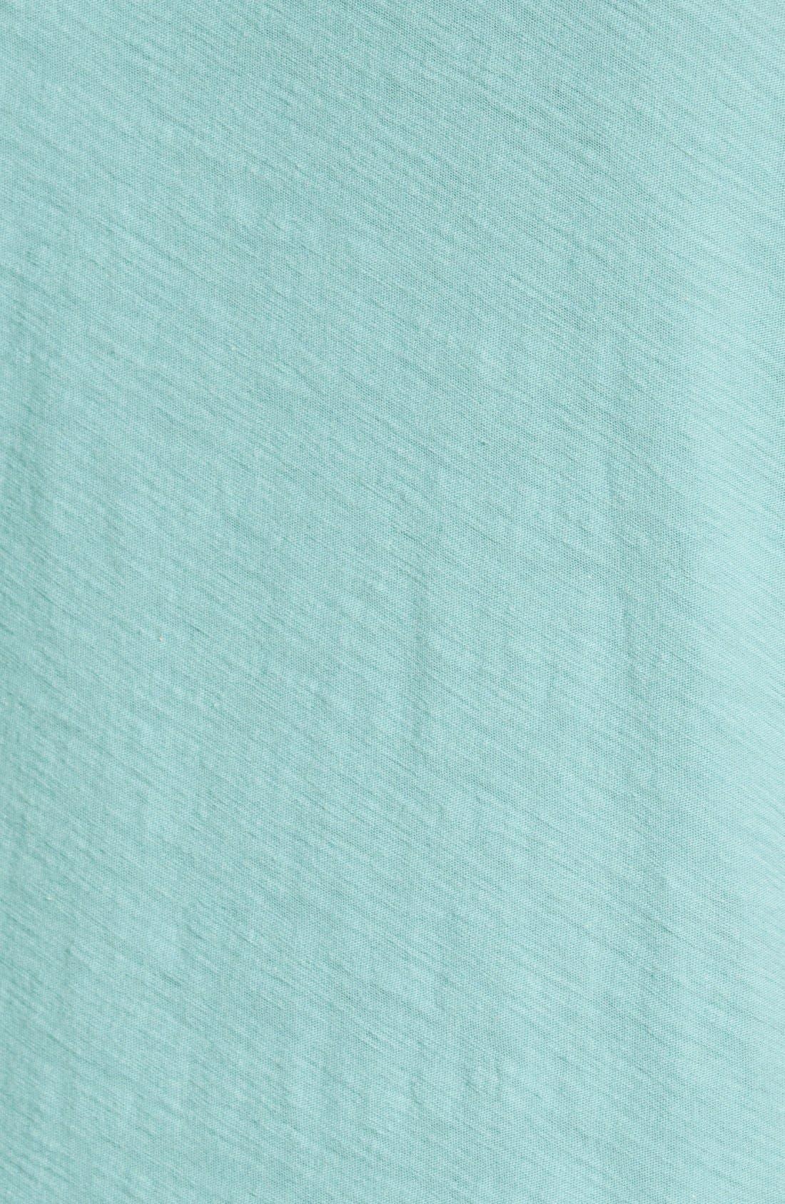 Alternate Image 5  - James Perse Classic Slub Crewneck Pocket T-Shirt