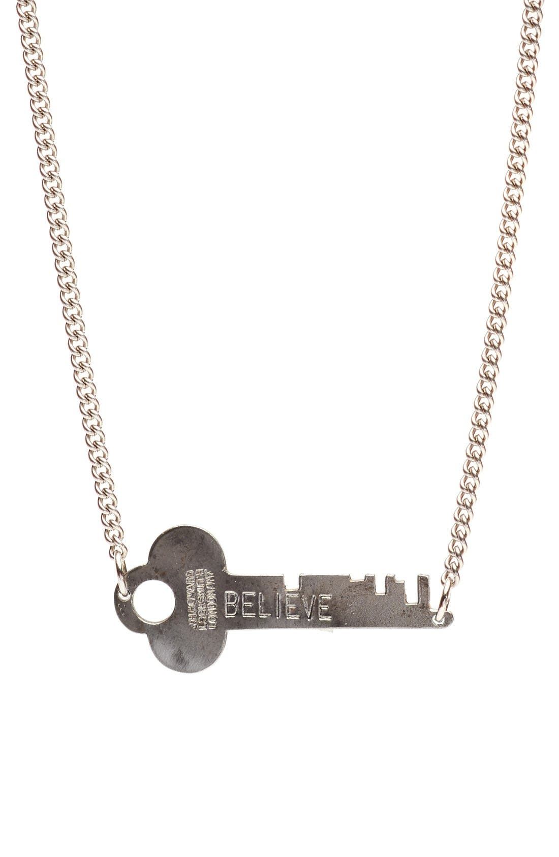 Main Image - The Giving Keys 'Never Ending' 24-Inch Copper Chain Key Necklace