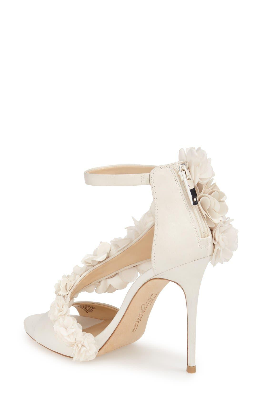 Alternate Image 2  - Imagine by Vince Camuto 'Daphne' Floral Ankle Strap Sandal (Women)