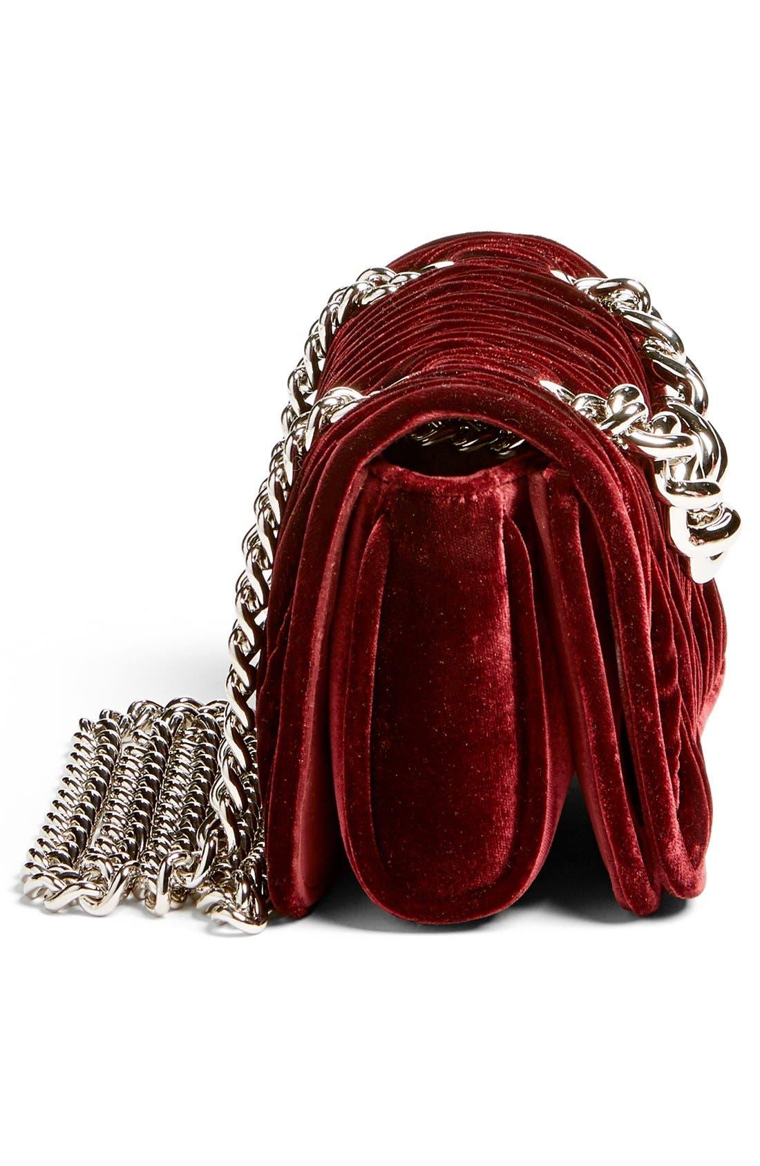 Alternate Image 5  - Miu Miu 'Small Club' Matelassé Velvet Shoulder Bag
