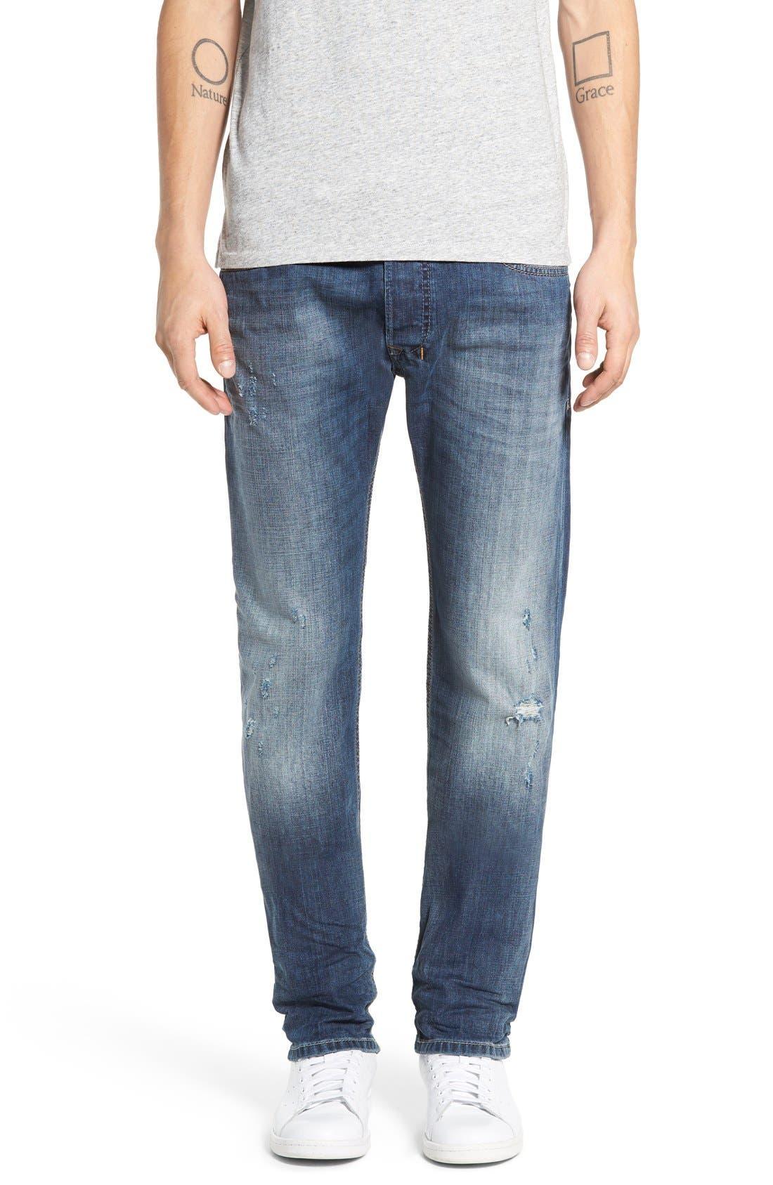 DIESEL® Safado Slim Straight Leg Jeans