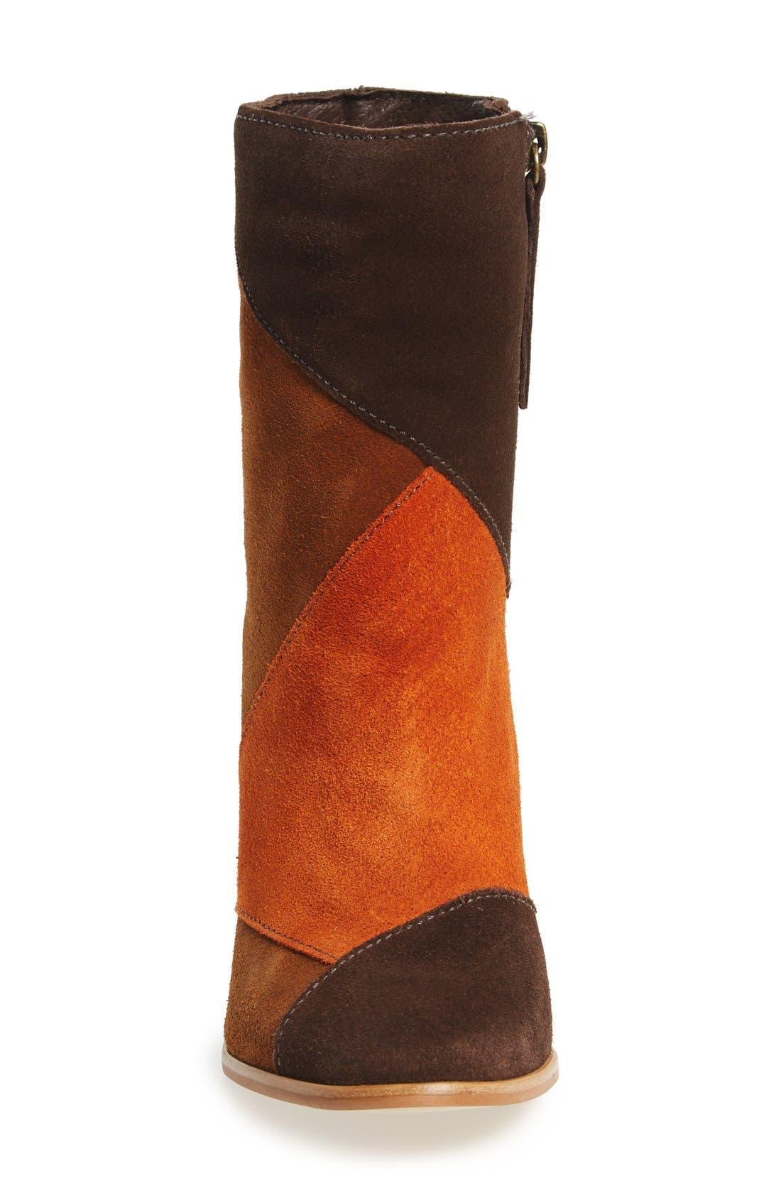Alternate Image 3  - Matisse Jigsaw Block Heel Bootie (Women)