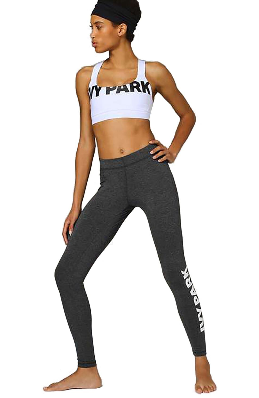 Alternate Image 2  - IVY PARK® Logo Ankle Leggings