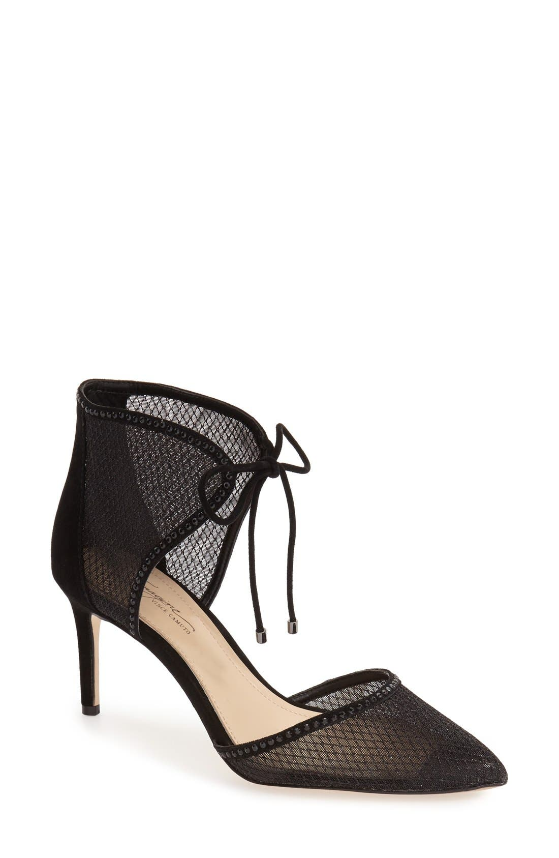 IMAGINE BY VINCE CAMUTO 'Mark' Mesh Panel d'Orsay