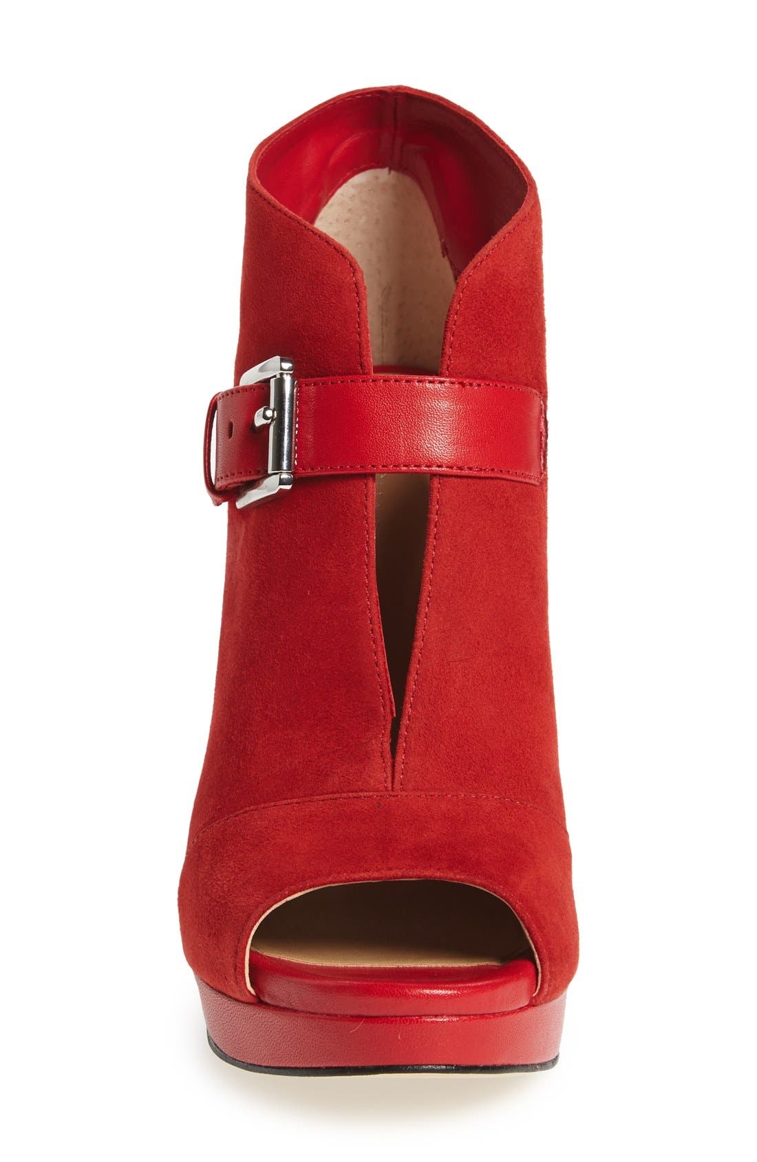 Alternate Image 3  - MICHAEL Michael Kors 'Isabella' Split Shaft Platform Bootie (Women)