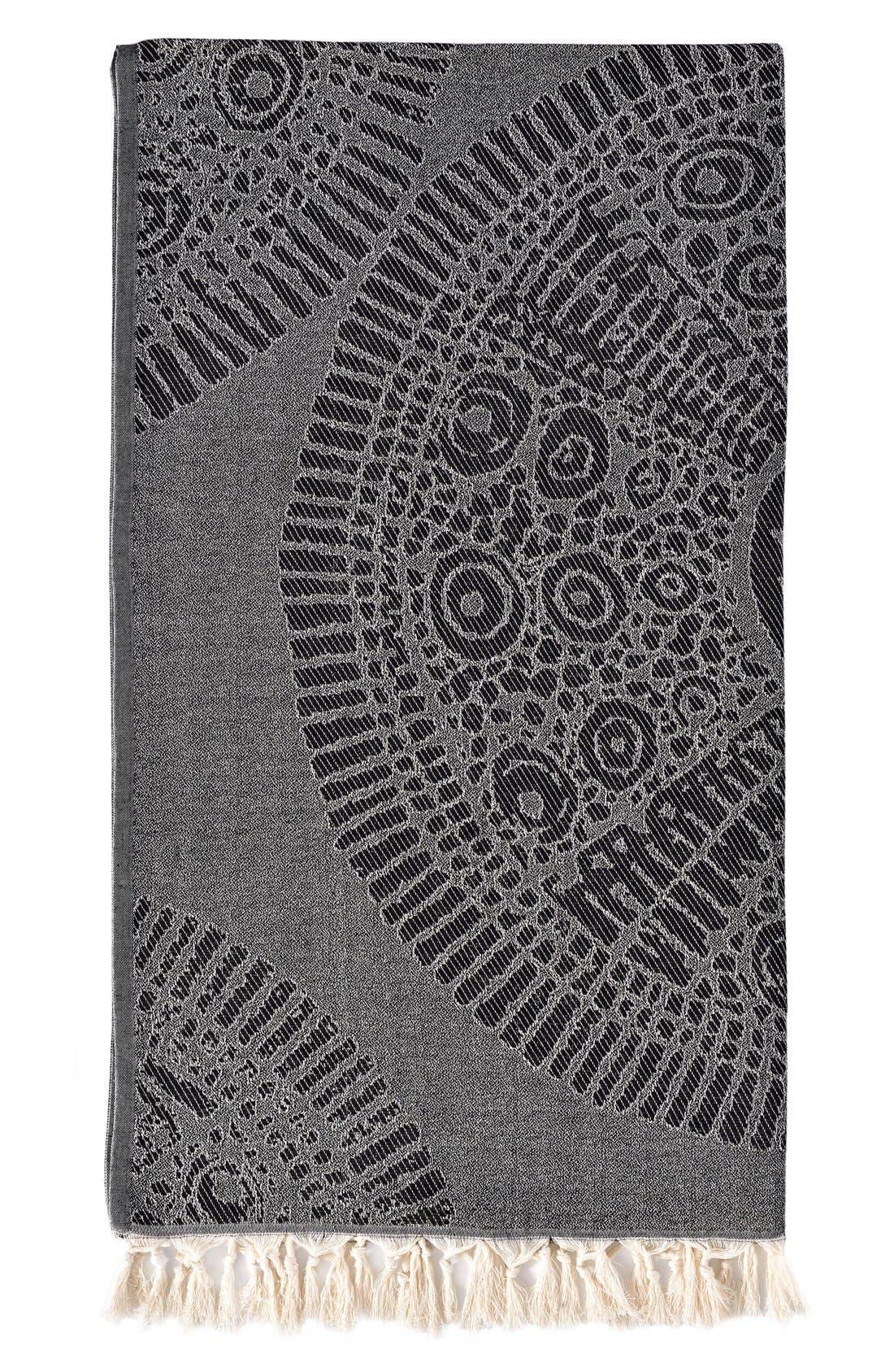 Linum Home Textiles Anatolian Turkish Pestemal Beach Towel