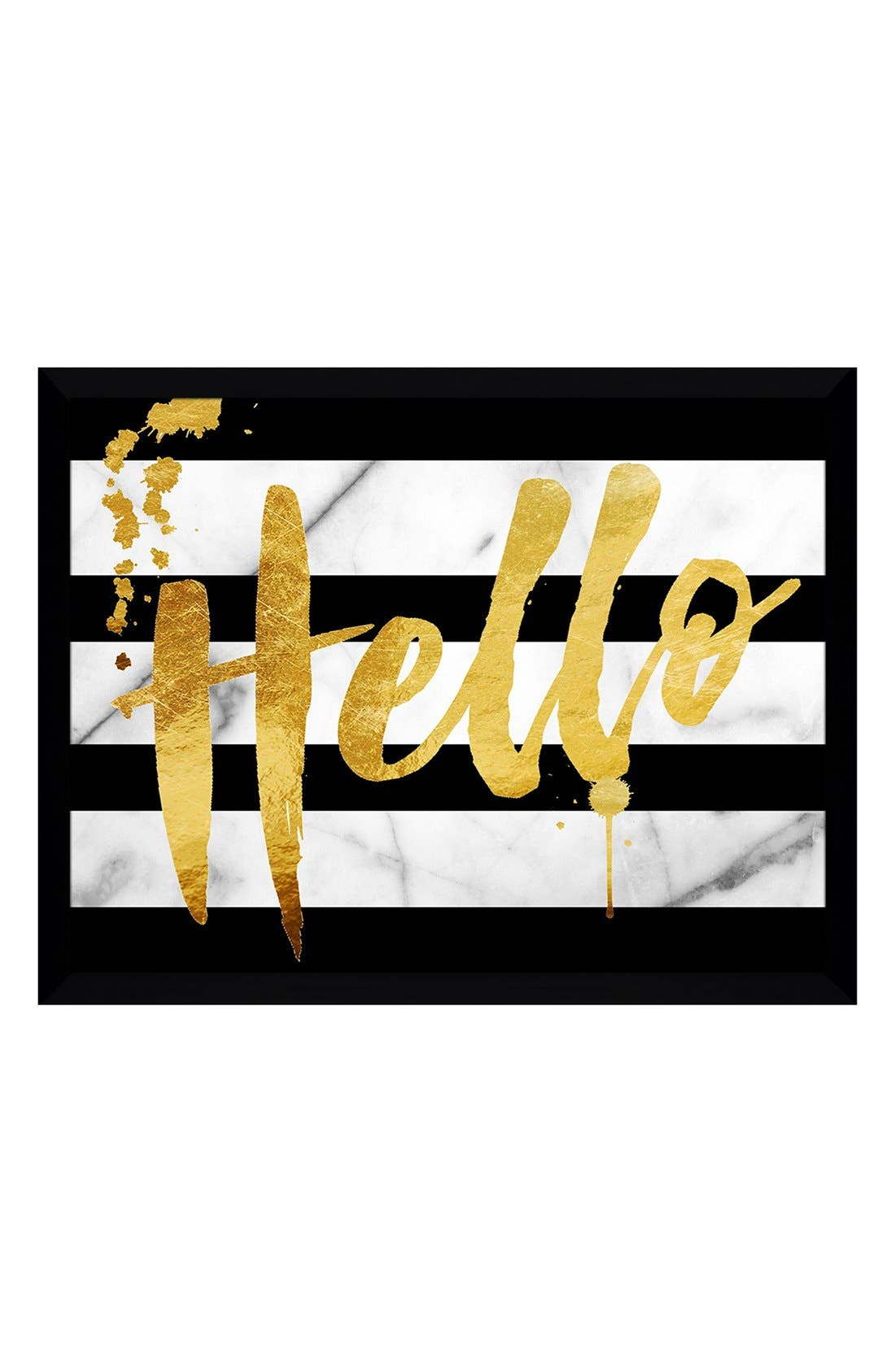 Alternate Image 1 Selected - Picture Perfect 'Hello' Fine Art Print