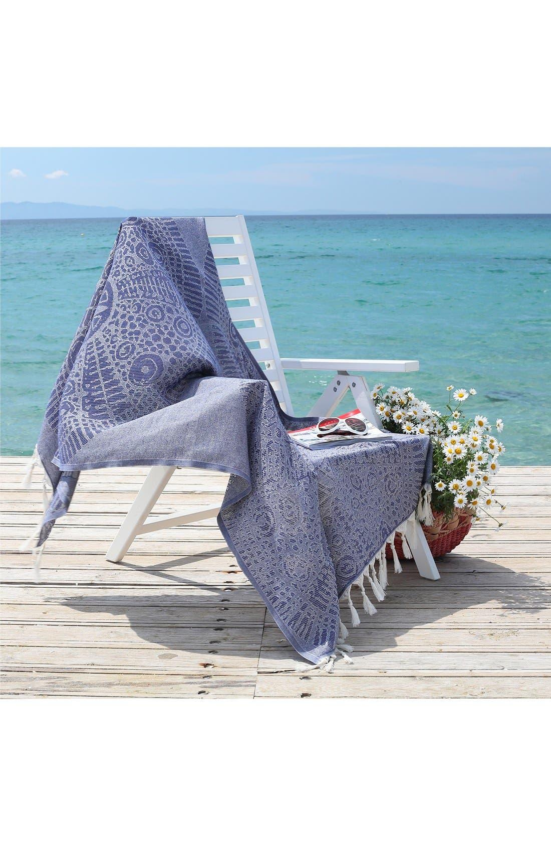 Alternate Image 5  - Linum Home Textiles Anatolian Turkish Pestemal Beach Towel