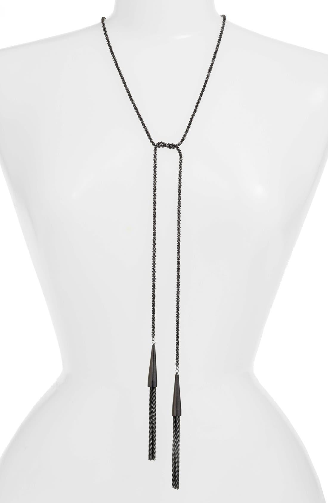 Kendra Scott 'Phara' Tassel Lariat Necklace