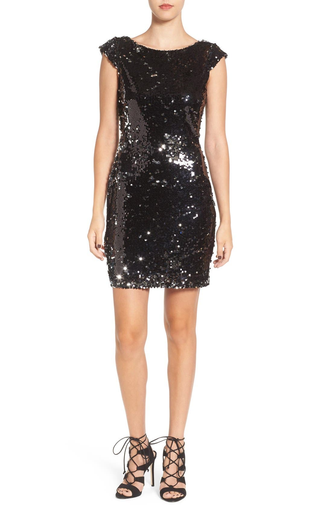 Alternate Image 1 Selected - Speechless Embellished Body-Con Dress