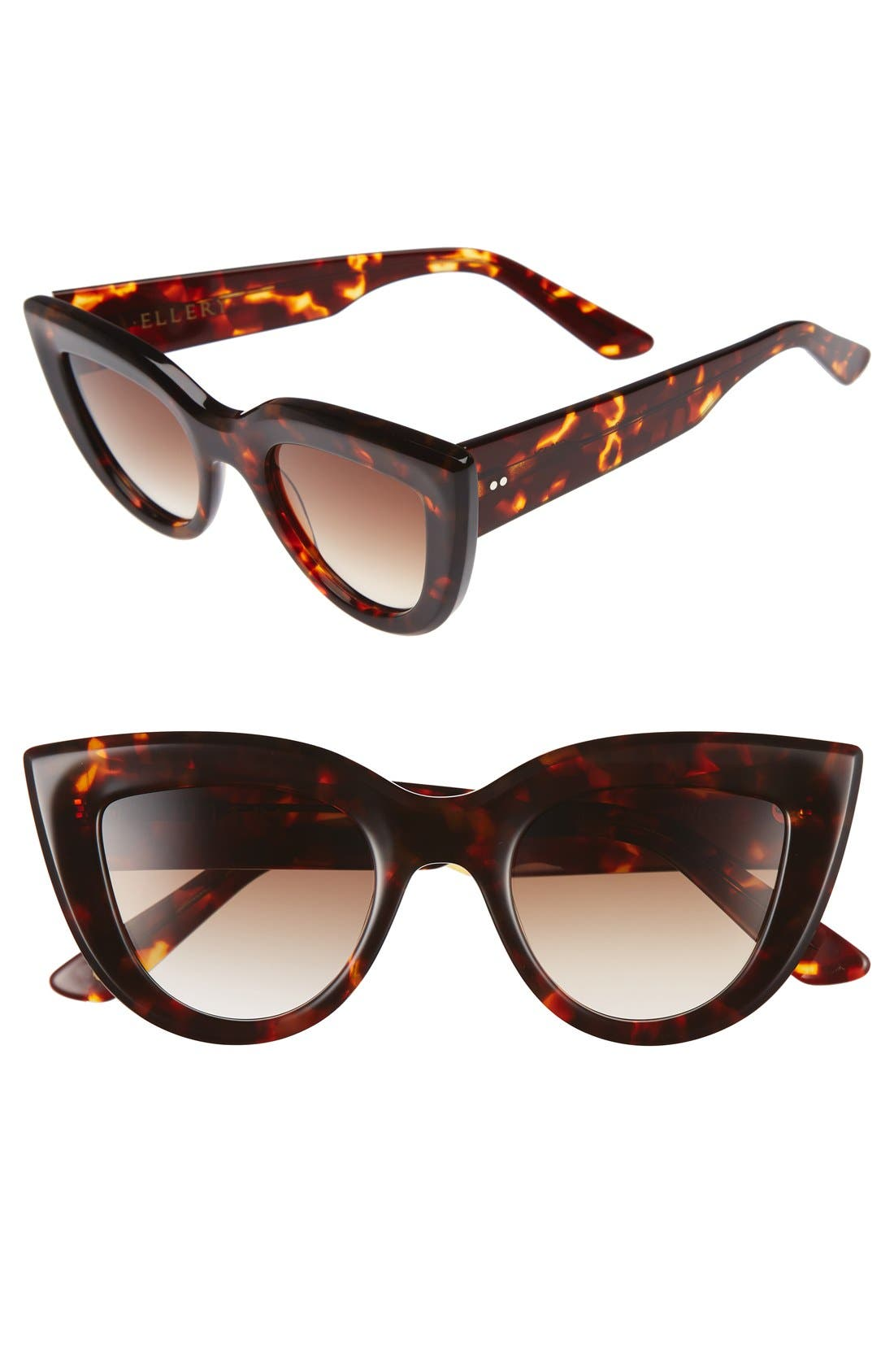 Main Image - ELLERY 'Quixote Classic' 45mm Cat Eye Sunglasses