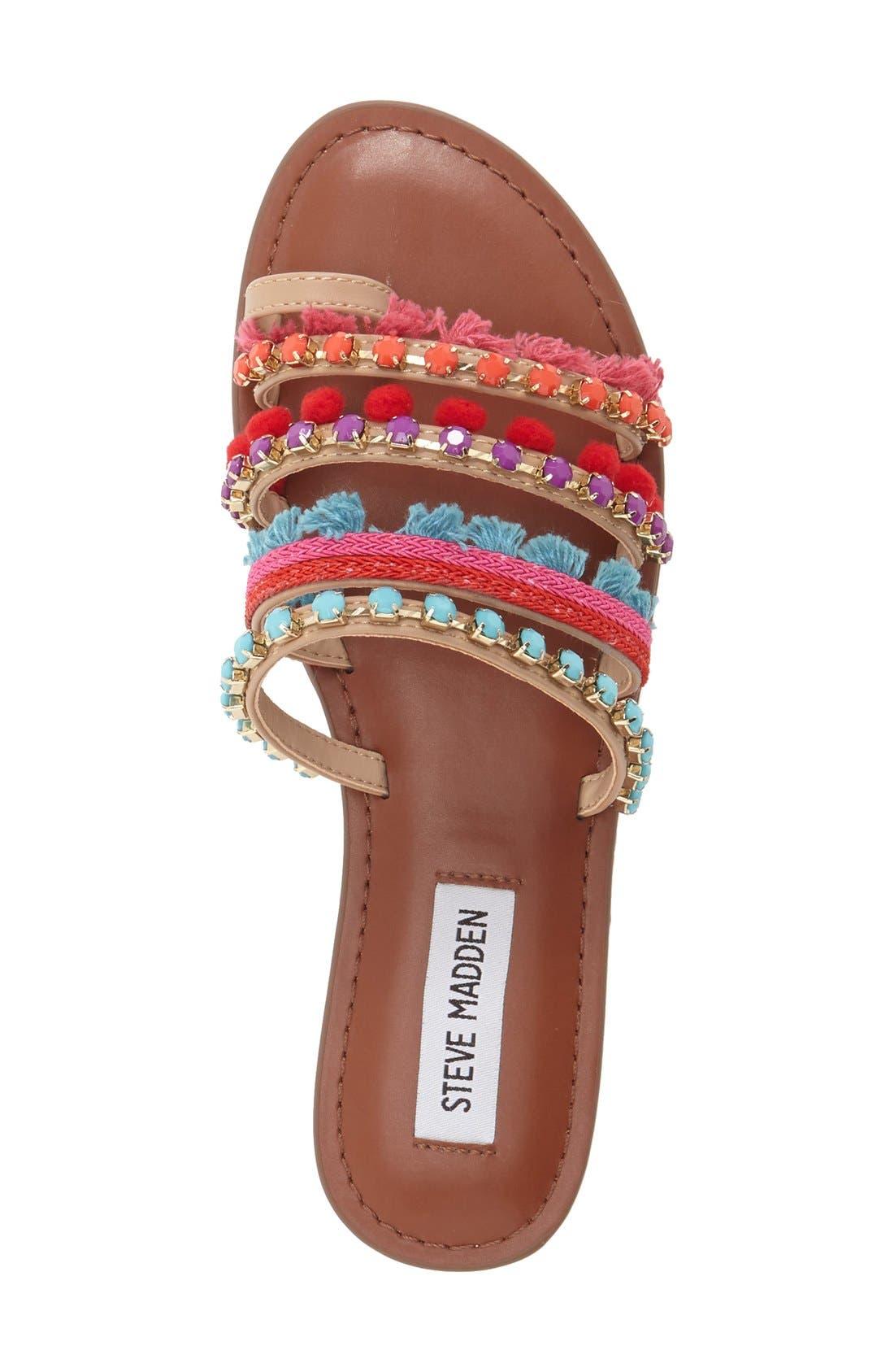 Alternate Image 3  - Steve Madden Multicolor Slide Sandal (Women)