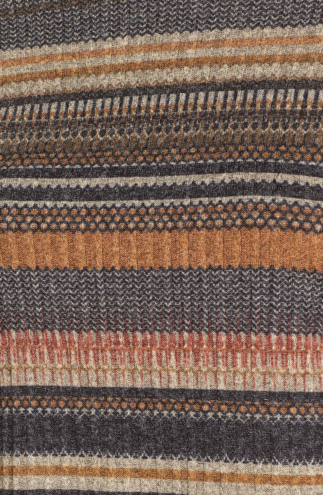 Alternate Image 6  - Mimi Chica Stripe Mock Neck Sweater