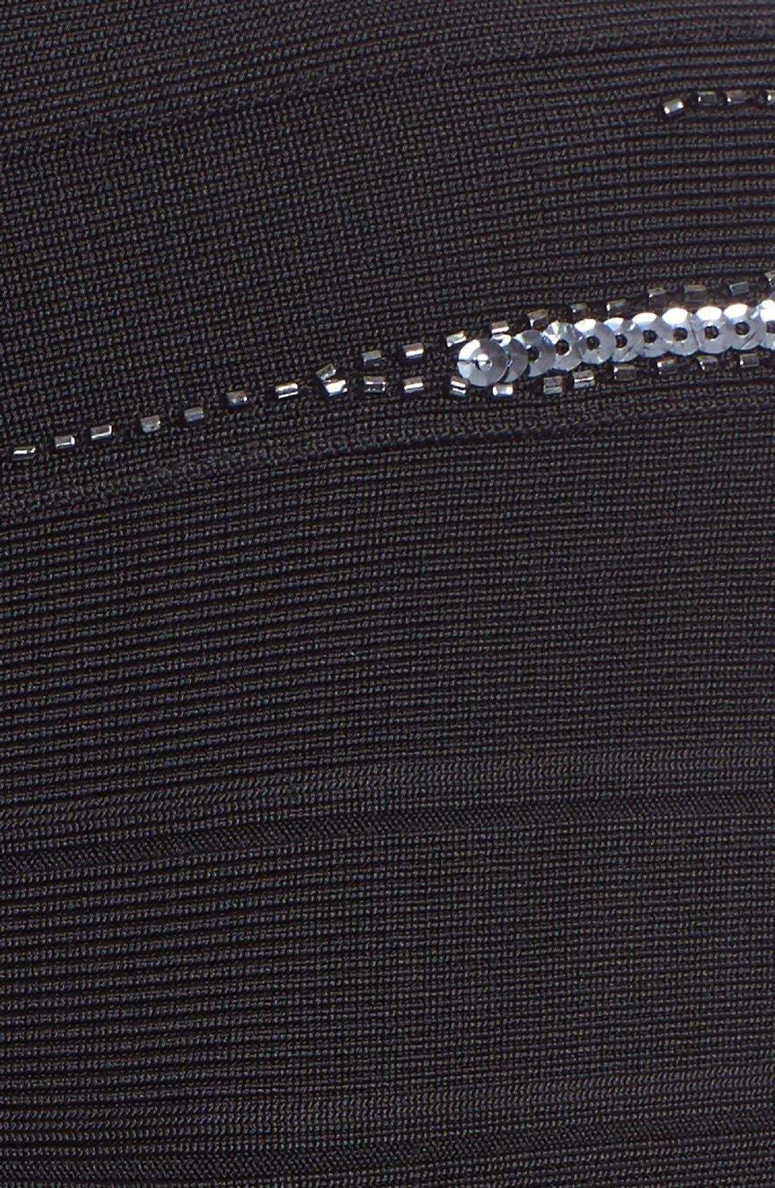 Alternate Image 3  - Herve Leger 'Janelle' Sequin Embellished Bandage Dress