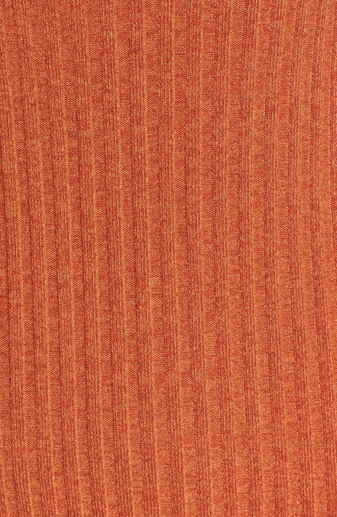 Alternate Image 6  - Socialite Cold Shoulder Rib Knit Dress
