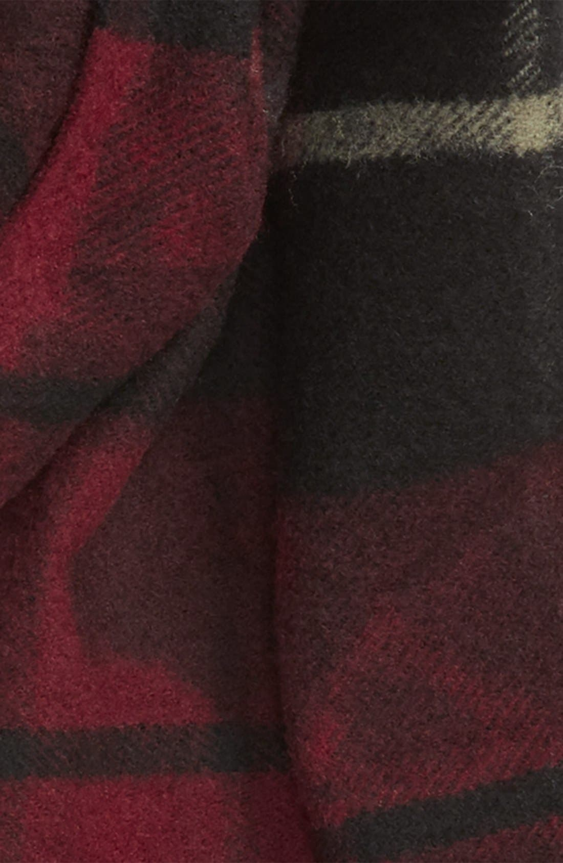 Alternate Image 3  - Lanvin Plaid Wool Scarf