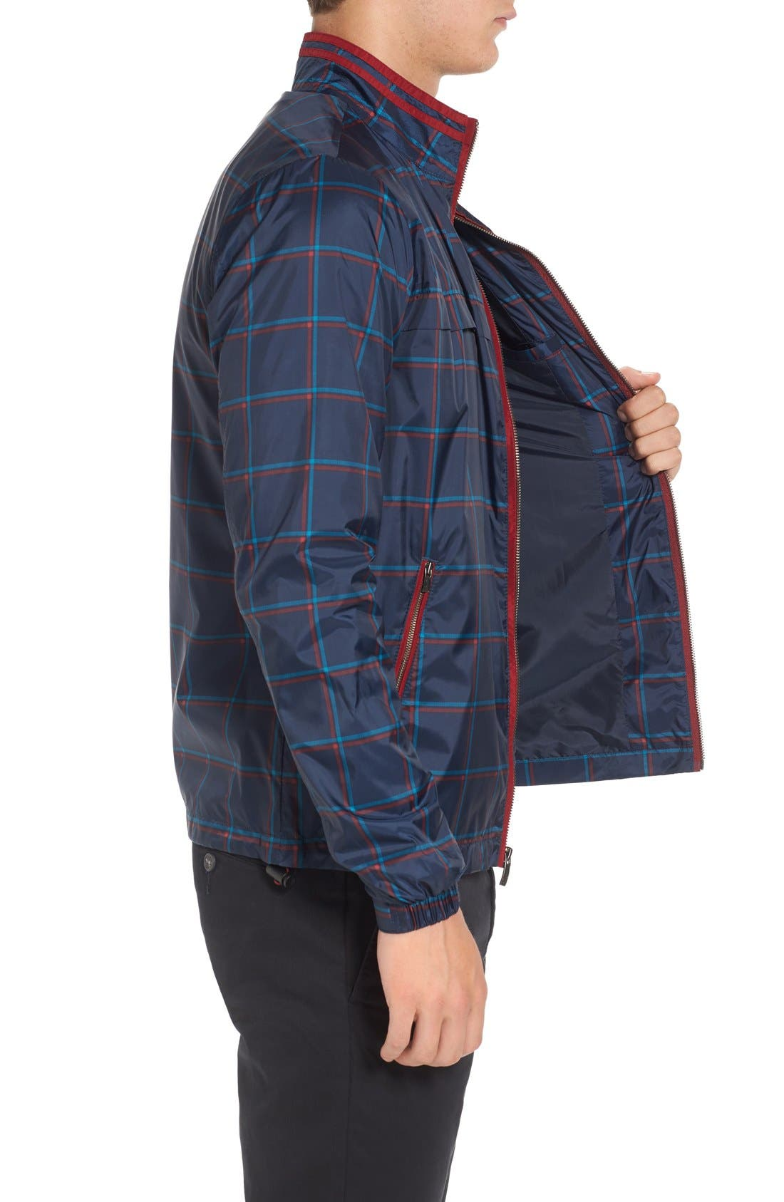 Alternate Image 3  - Original Penguin Plaid Print Zip Jacket