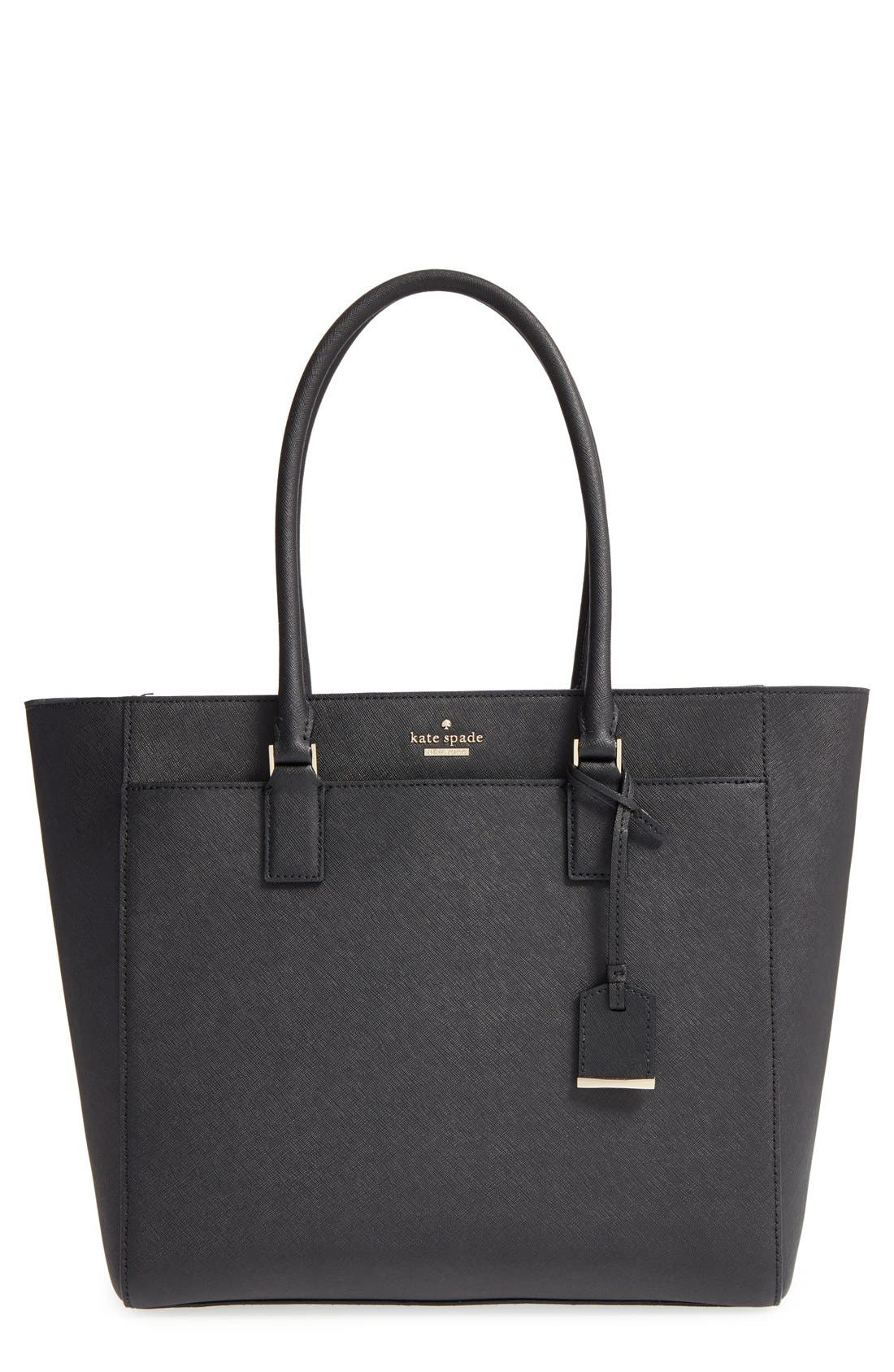 Main Image - kate spade new york 'cameron street - havana' textured leather tote