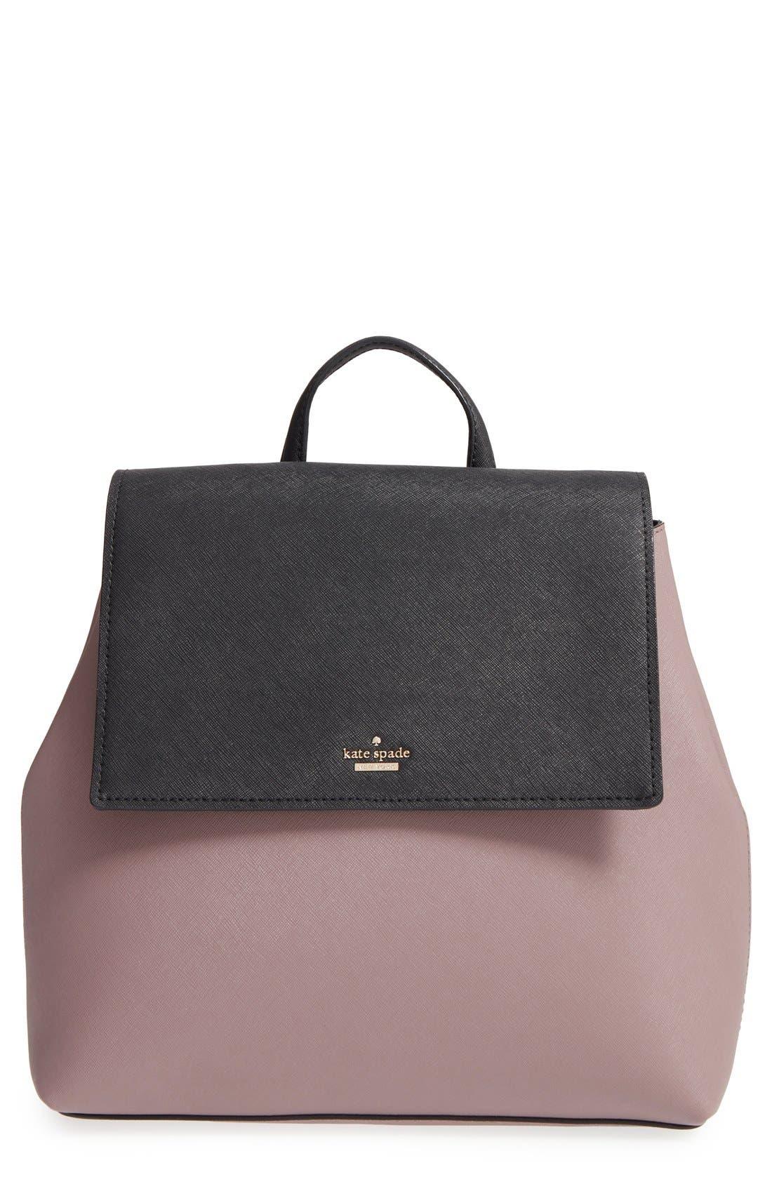 Main Image - kate spade new york 'cameron street - neema' leather backpack
